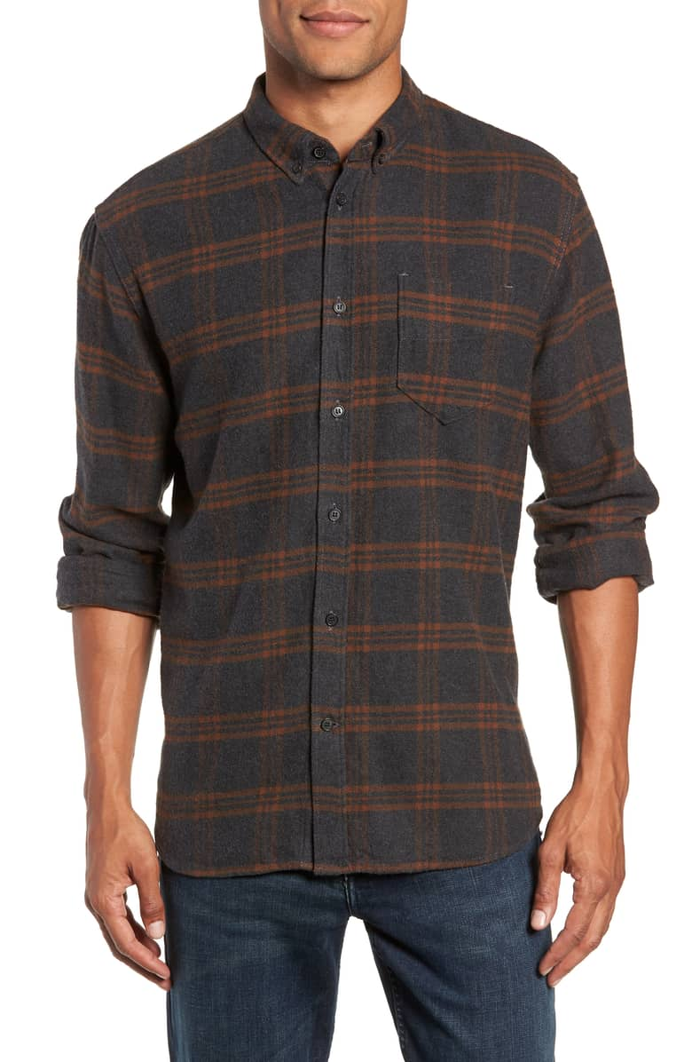 Billy Reid Cotton Plaid, $195