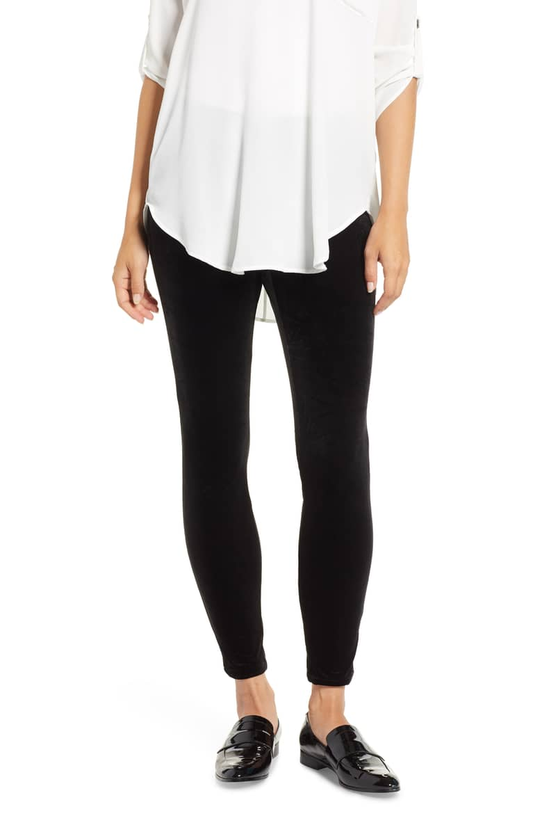 Chaus Velvet Leggings, $69