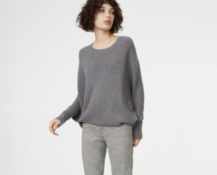 Sayvah Cashmere Sweater, $328