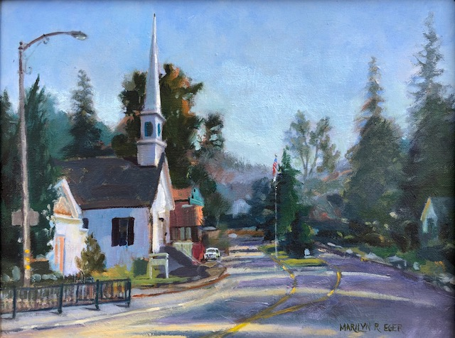 """Click to see larger image  """"Sunlight on Sutter Creek"""" 