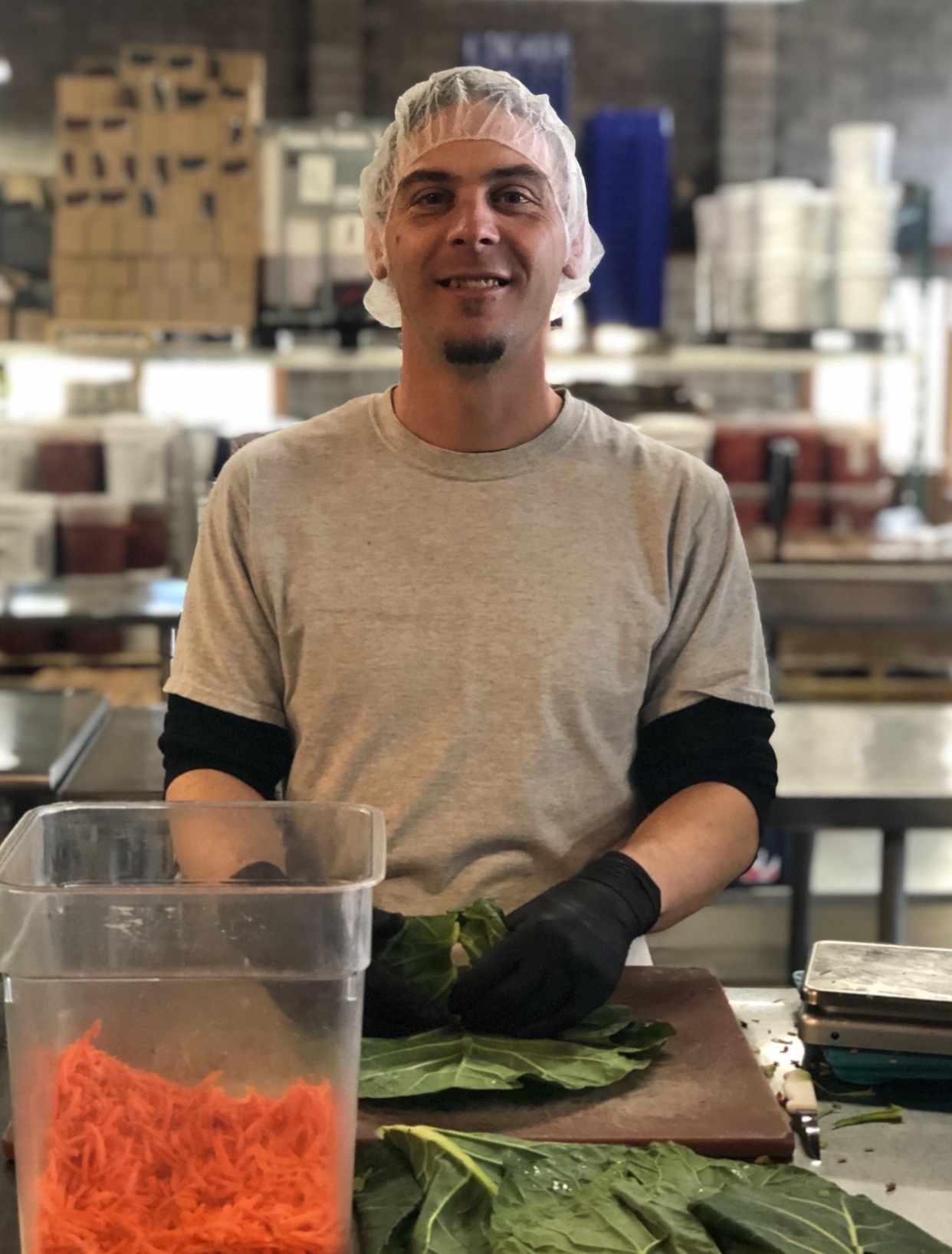 In the beginning - our founders created Tsunami Sushi, a high-quality vegan, organic product and served all over the Willamette Valley. In the past 4 years, we have evolved this small organic business by expanding Tsunami Sushi's product line to include collard green wraps. Now we are perfecting our recipes and expanding our vision to serve all conscious consumers in the Pacific Northwest.