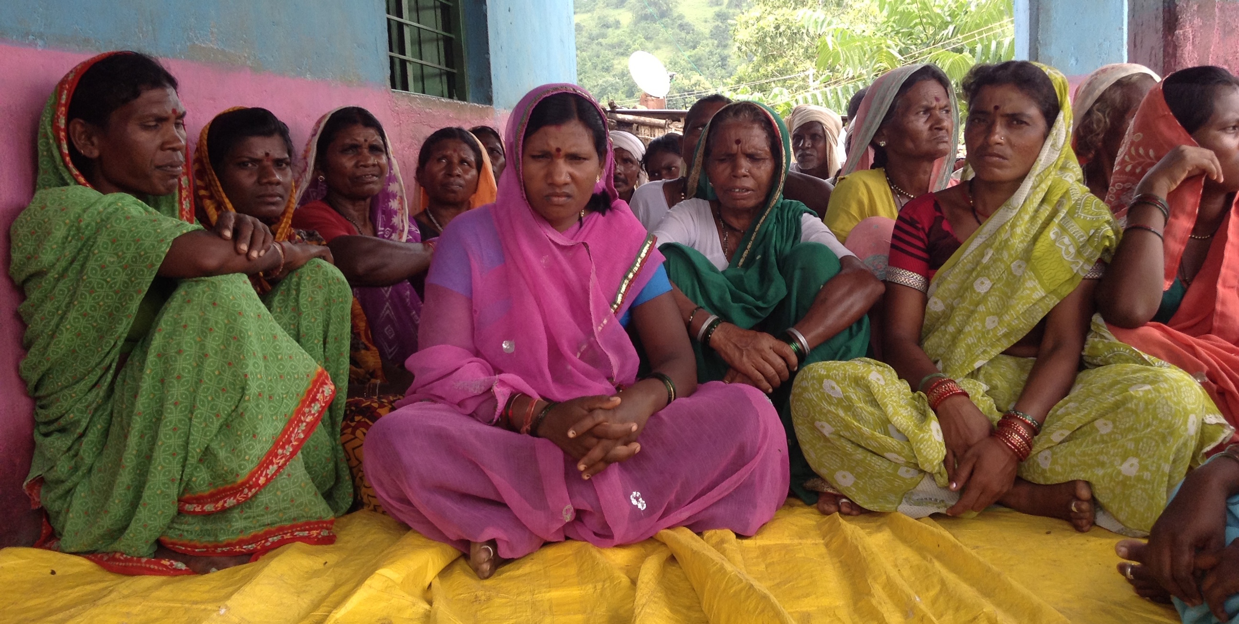 A women's self-help group in Yavatmal District, Maharashtra