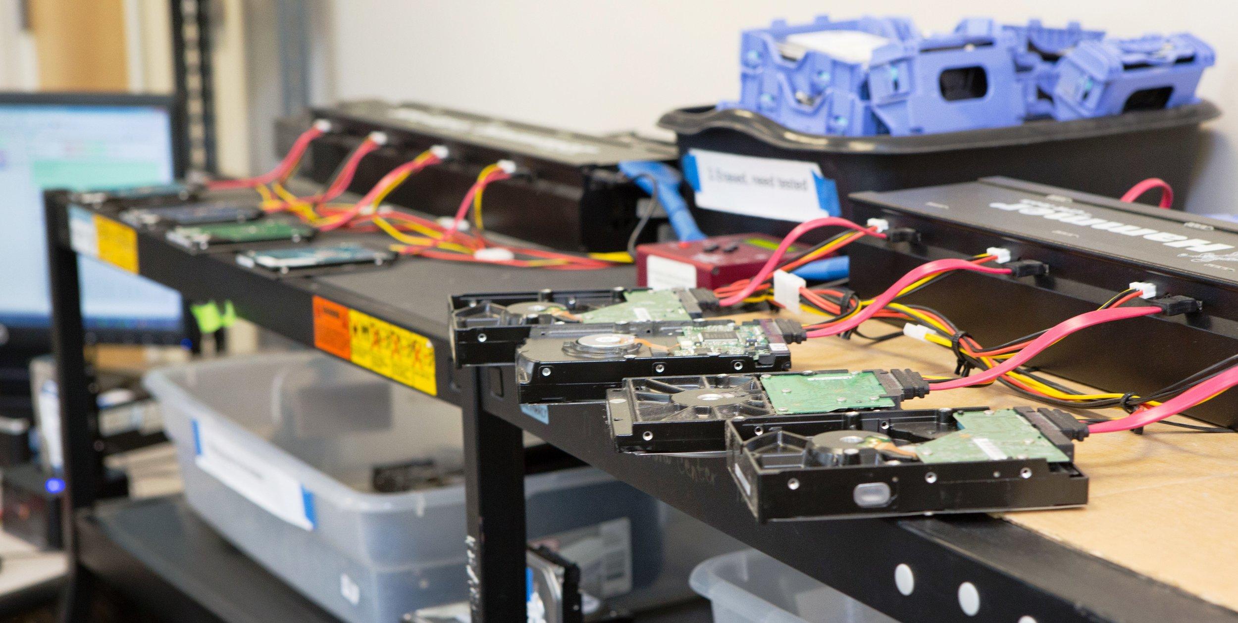 asset management services, data destruction, hard drive overwrite, NIST 800-88, CSR