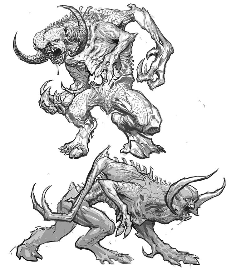 Minotaur designs