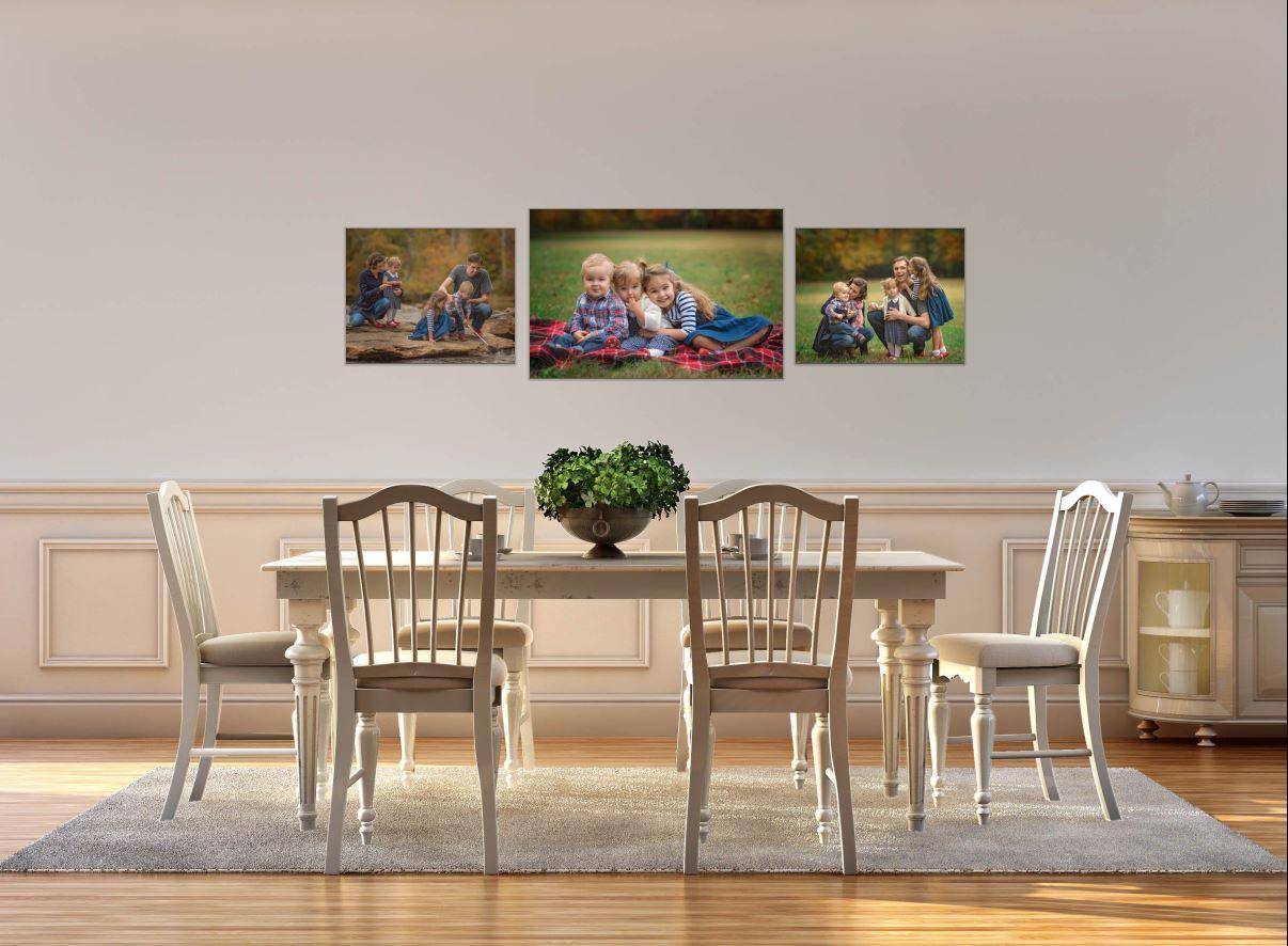 Atlanta Family Photographer Canvas Design