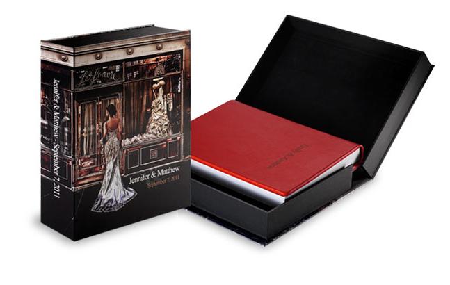Italian storybook wedding albums