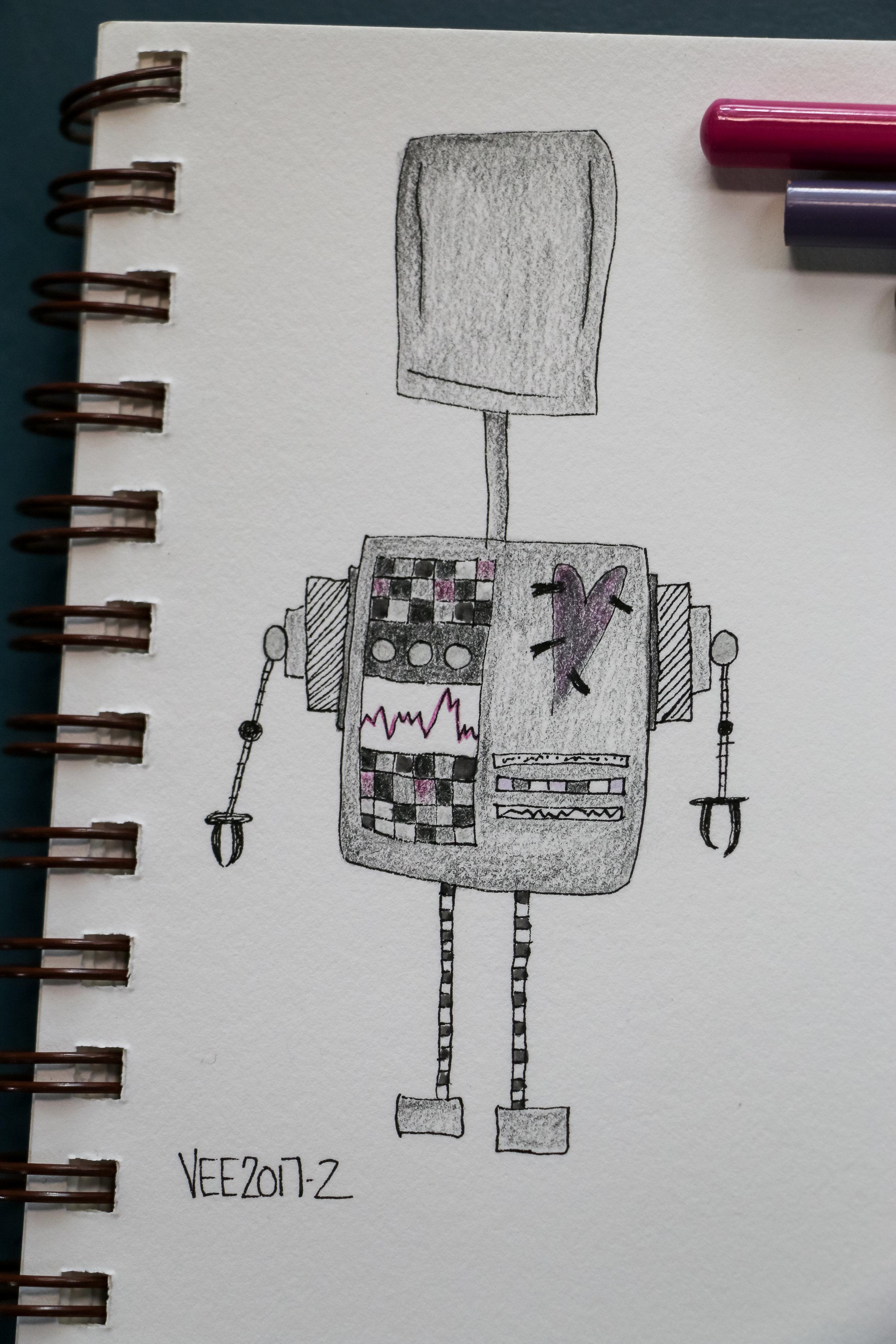 robot #2 aka VEE2017-2