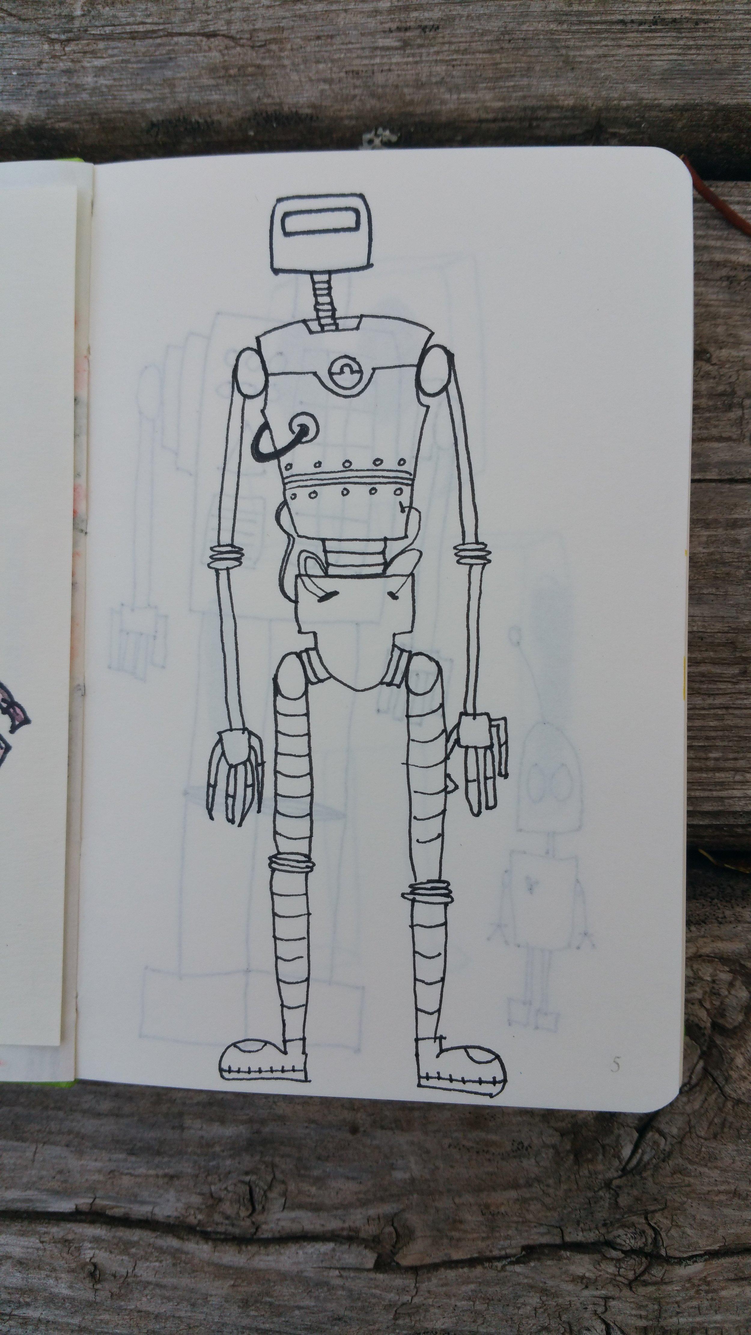 Sept 22, 2017 robot #15/365