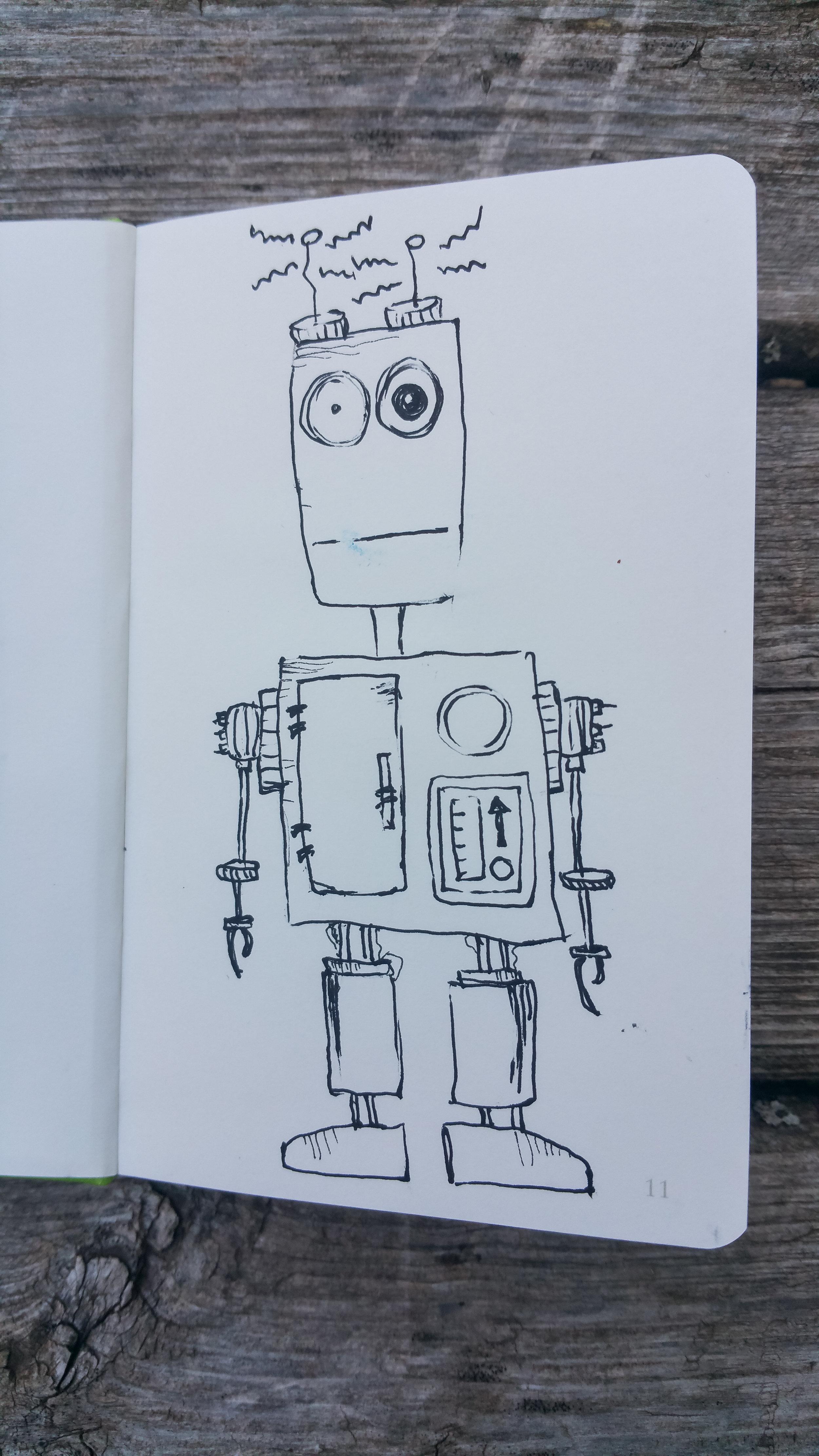 Sept 24, 2017 robot 17/365