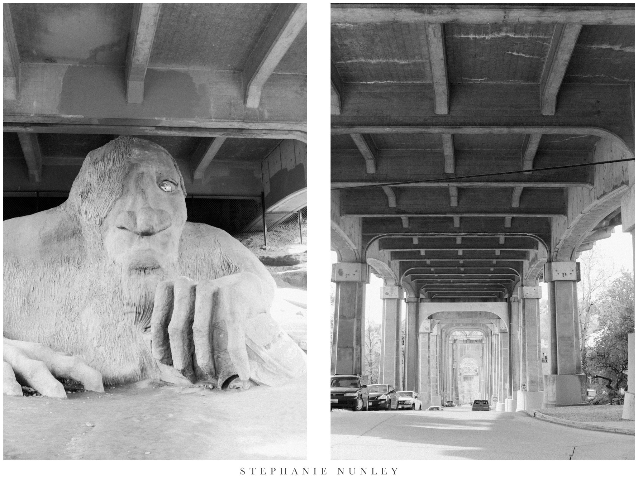 The Troll Under the Bridge - On Sunday, while we were walking from our airbnb to the store to purchase bus passes, we stumbled across this. I didn't even know it was a thing.