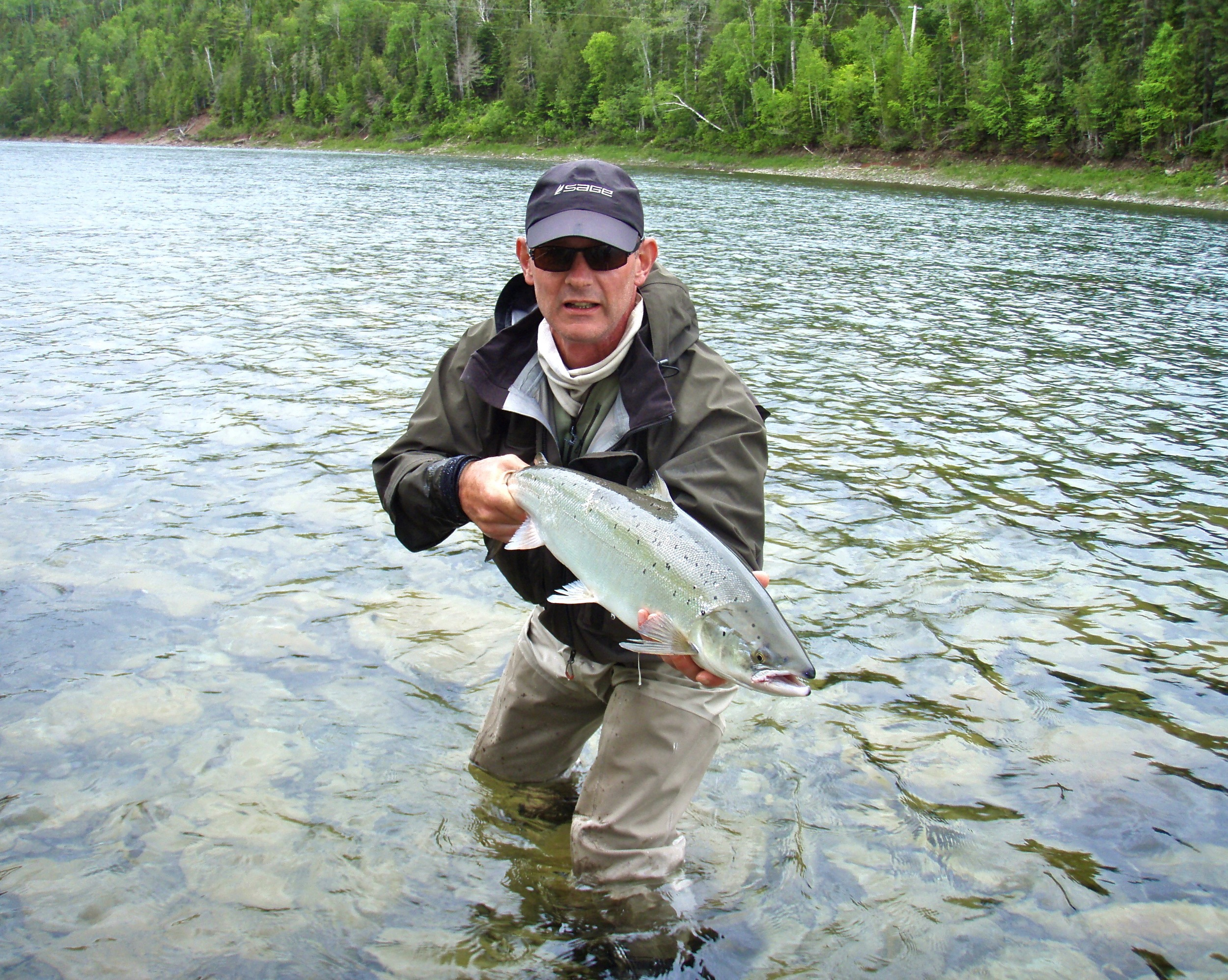 Graham Green from Halifax owns the Fishing Fever store, he sure knows how to get it done!