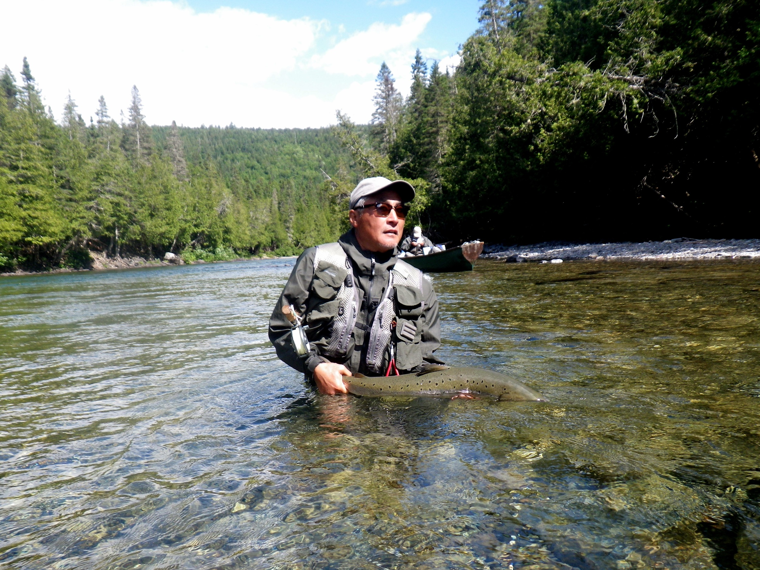 Long time Camp Bonaventure guest Rick Koeknow how to get it done, Congratulations Rick!