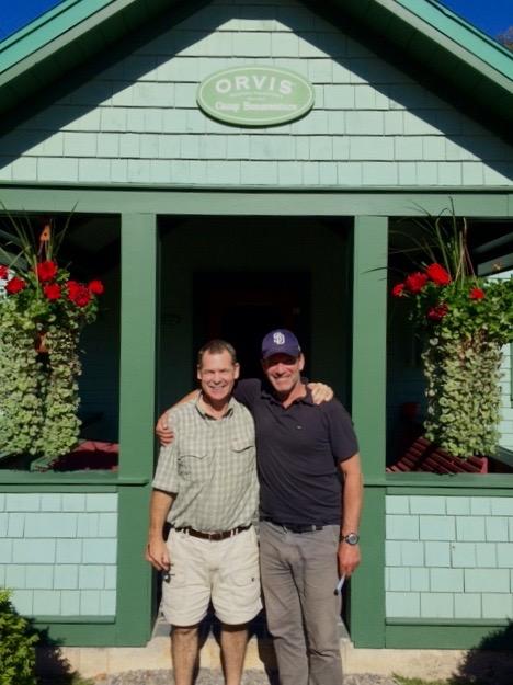Glenn and Andre at Camp Bonaventure