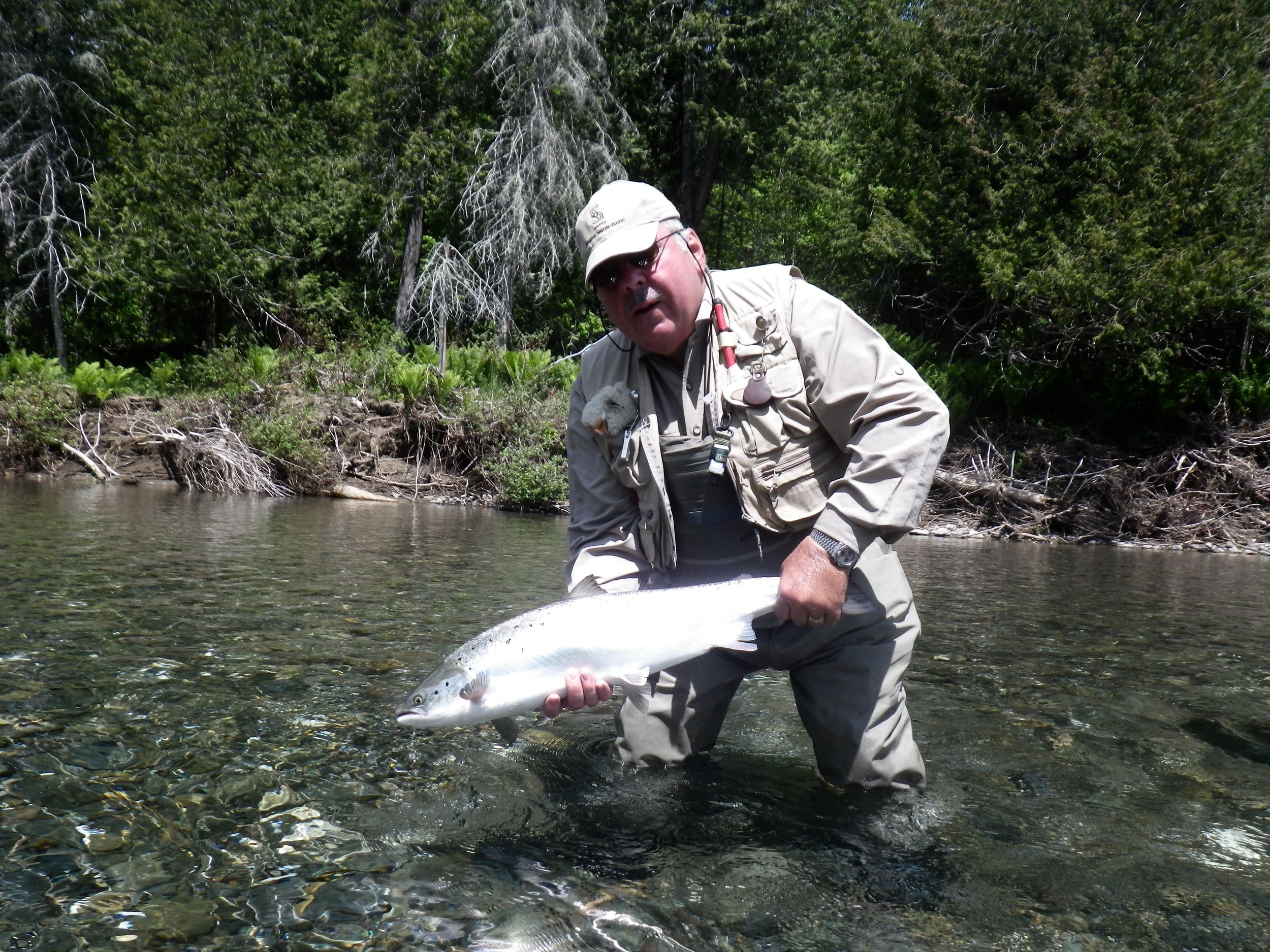 Jacques Morin with his first one of the season, nice one Jacques, congratulations.