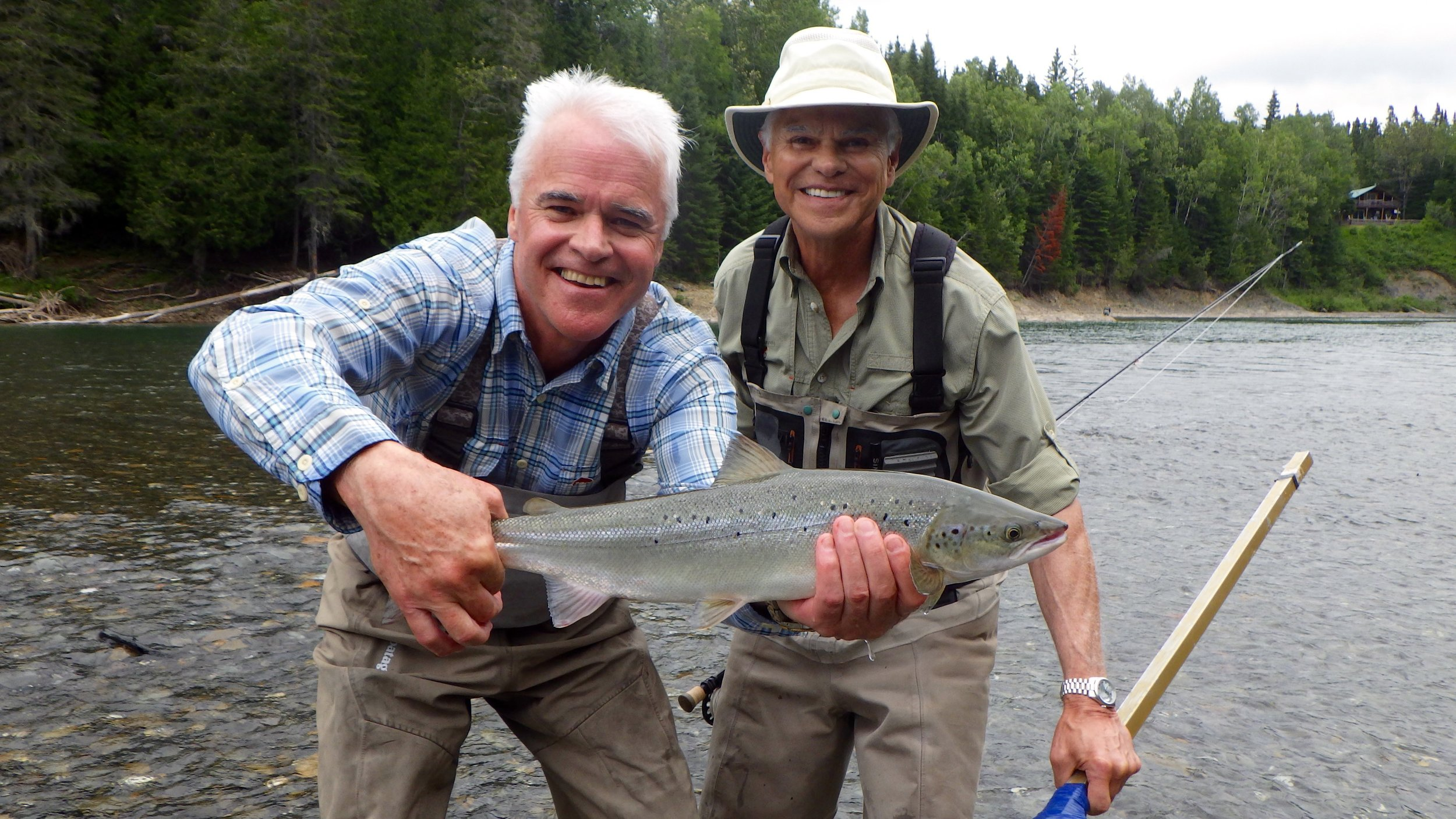 Mac & Dale Fox didn't take lone to hook a few on the Bonaventure, well done guys!