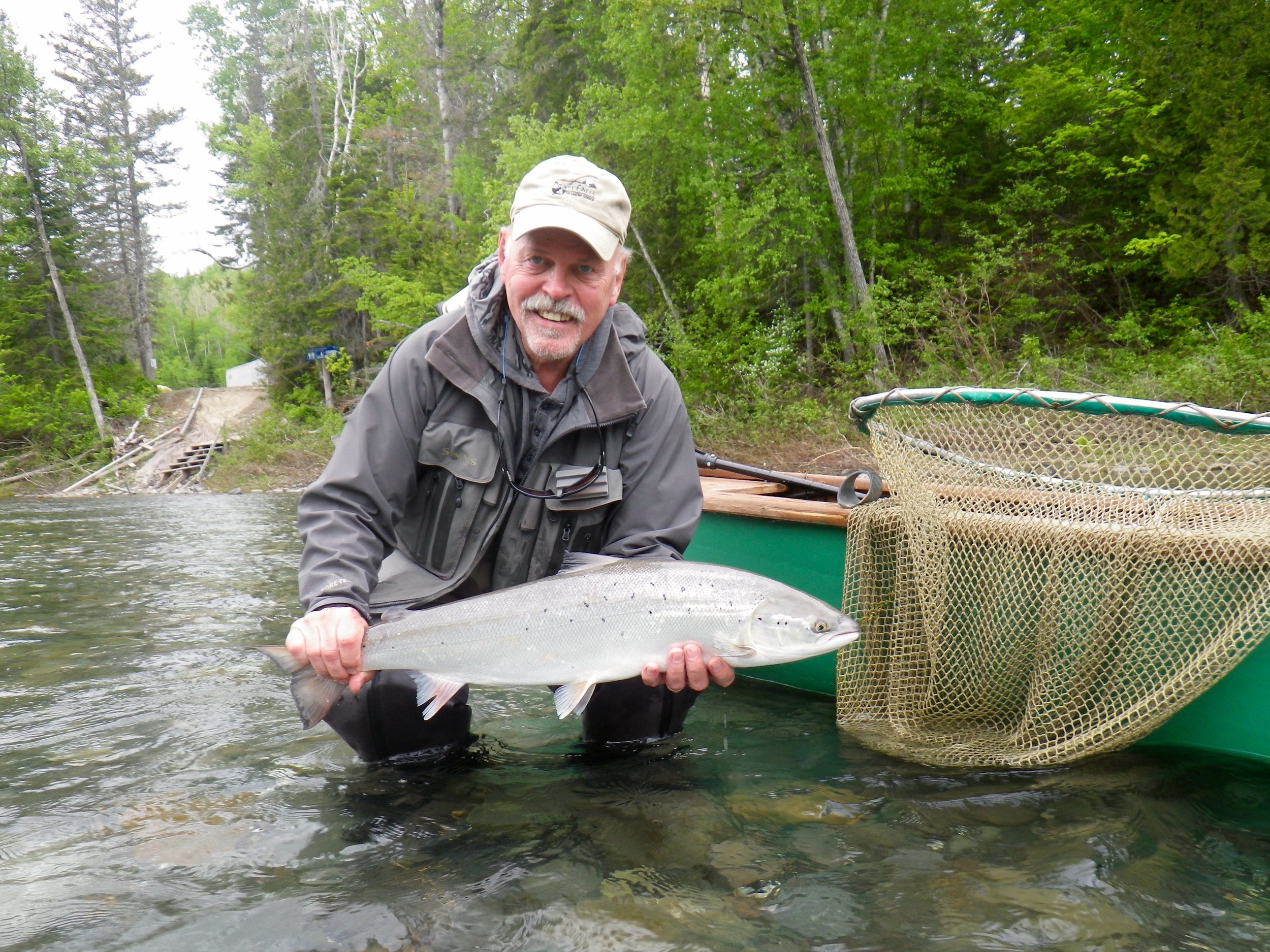 Arve Gustafson came all the way from Norway to enjoy our fishing and hospitality, a great angler, Arve way high rod for the week. Congratulations!