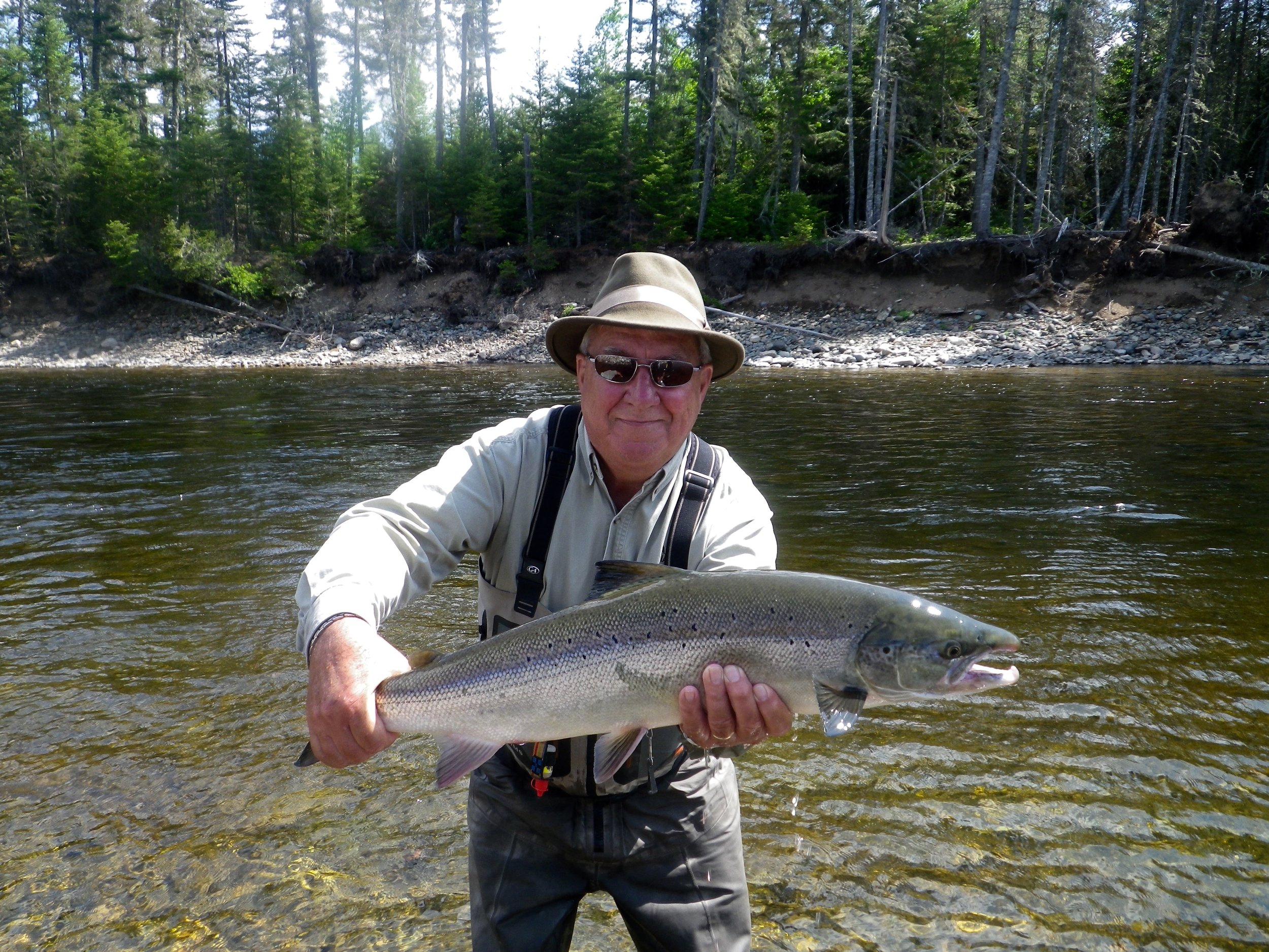 Fred Benere has been coming to Camp Bonaventure for 25 years, a great angler and good friend, congratulations Fred!