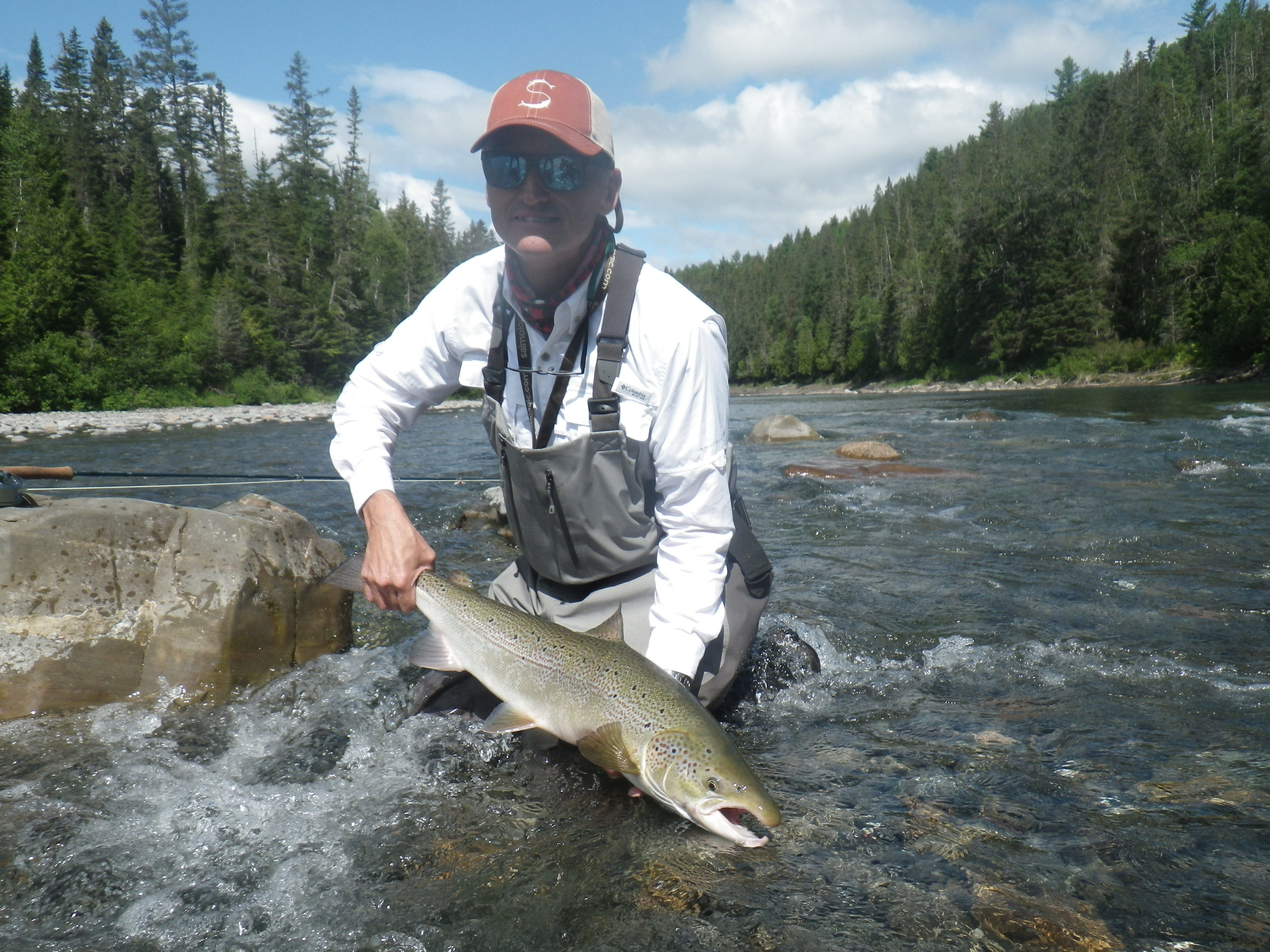 Jeremy Beamall with his first one landed on the Bonaventure this week! Congrats Jeremy!