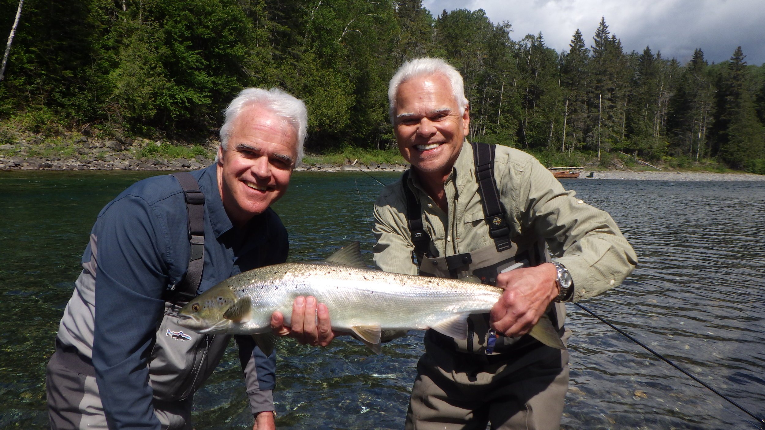 Mac & Dale Fox release another one on the Bonaventure! Nicely done!