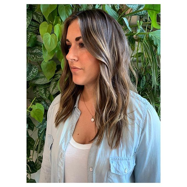 Highlights and brightened ends over a cooler base color for Taryn.  Styled with @love_kevin_murphy Body.builder and Anti.gravity