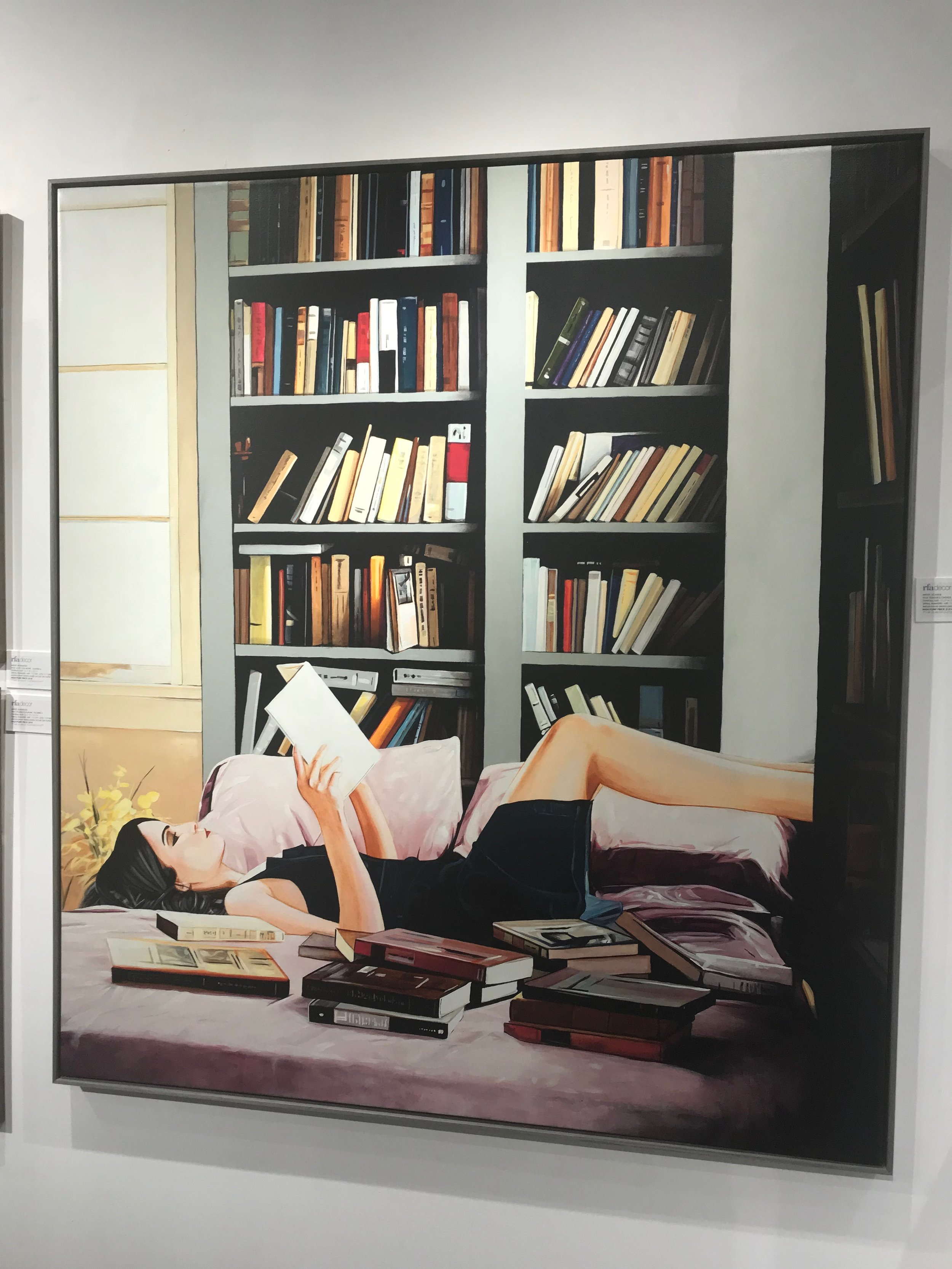 Why did I choose this image of a relaxing book read???… Well I'm trying to be patient during a messy remodel LOL