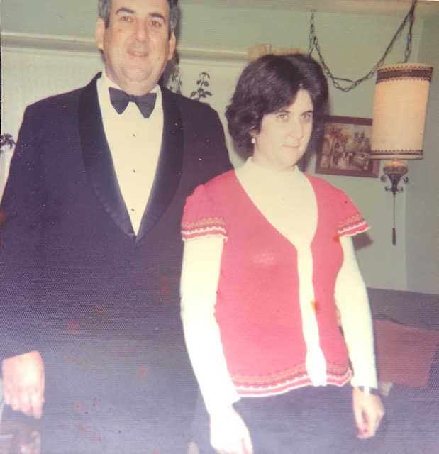 Robert and Linda Comins, 1975