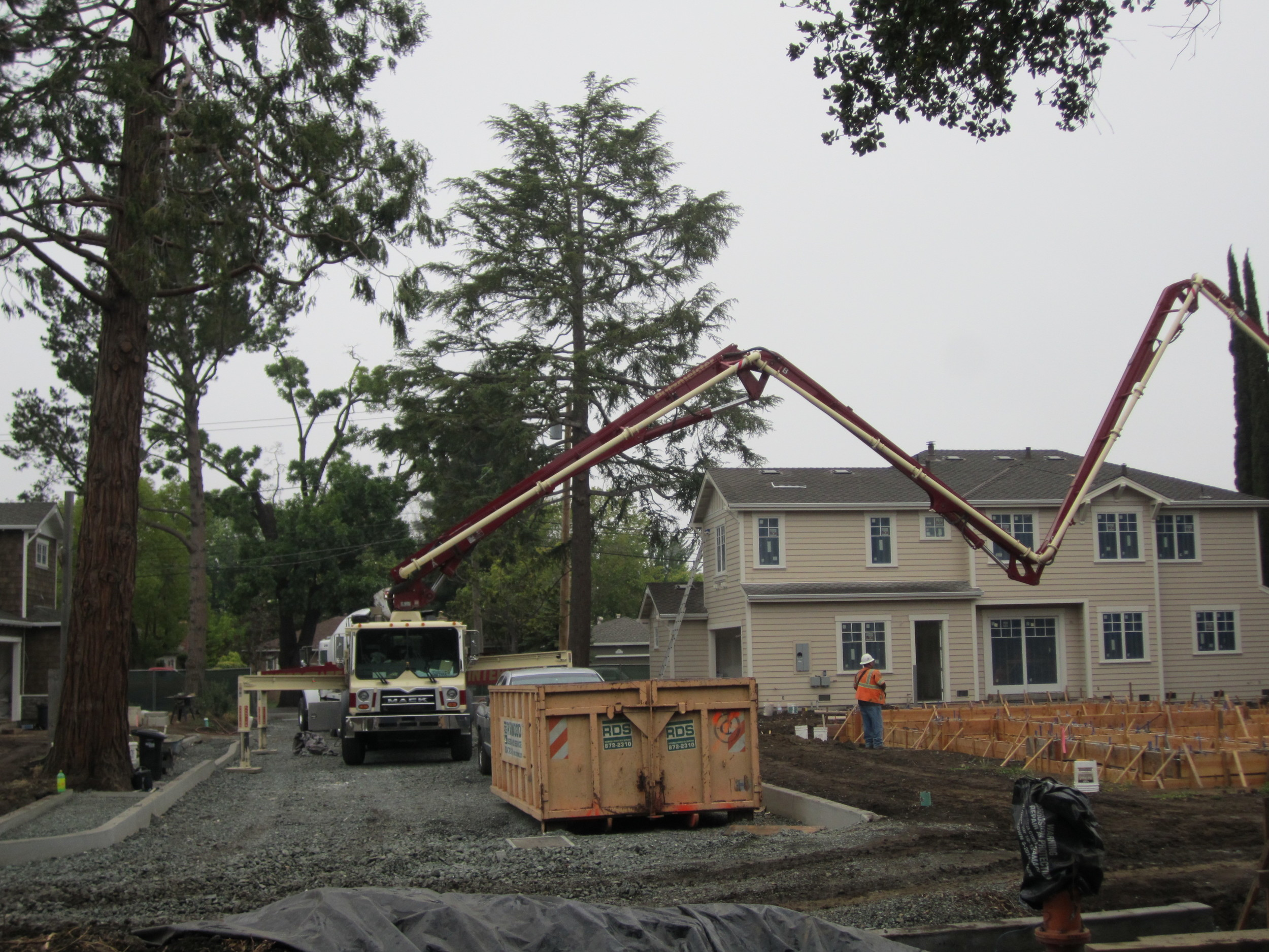 6 home New development Rossi Lane Redwood City