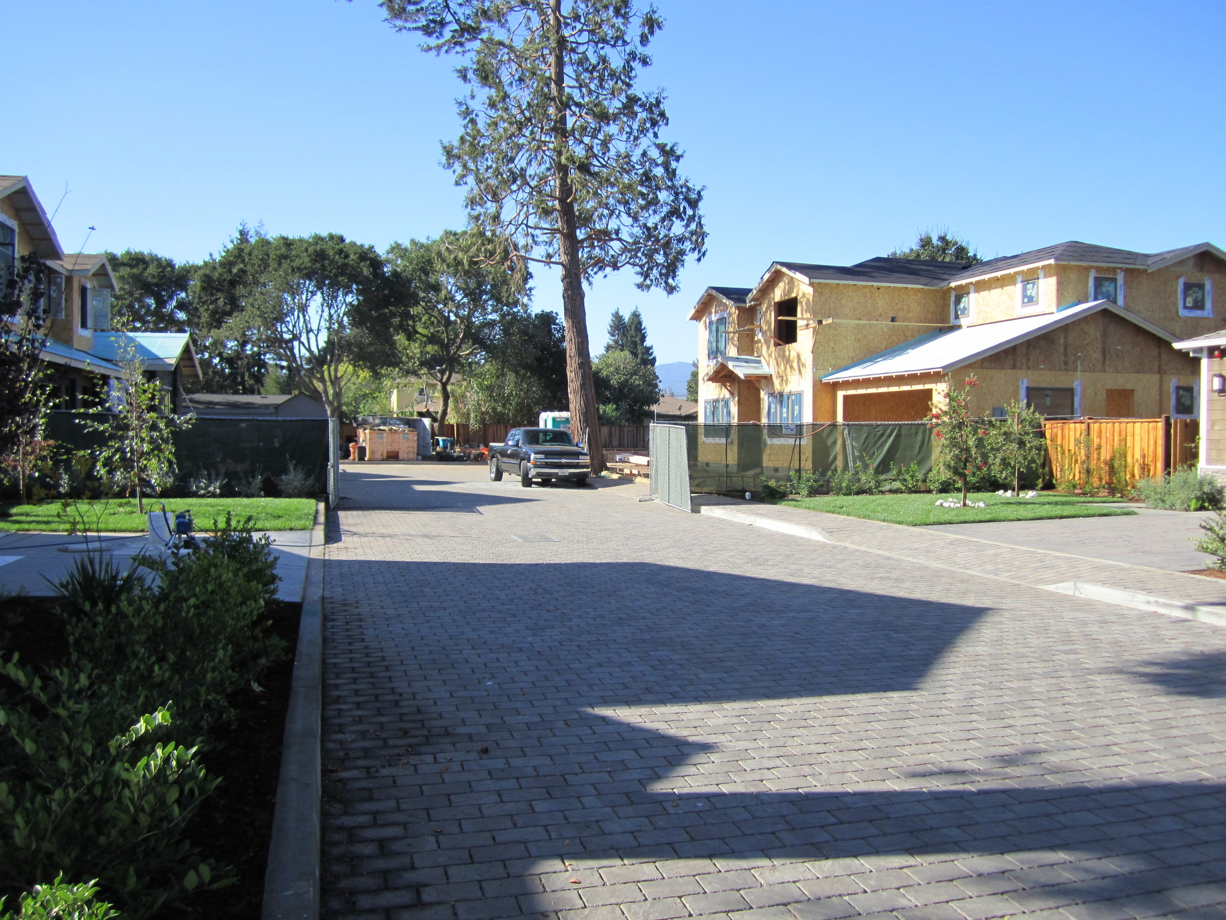 6 new homes Rossi Lane Redwood City
