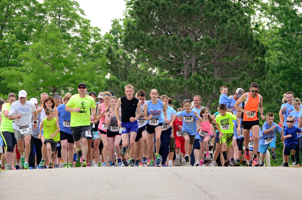 Register for the 2nd Annual Pontiac Cove 5K & Fun Run/Walk