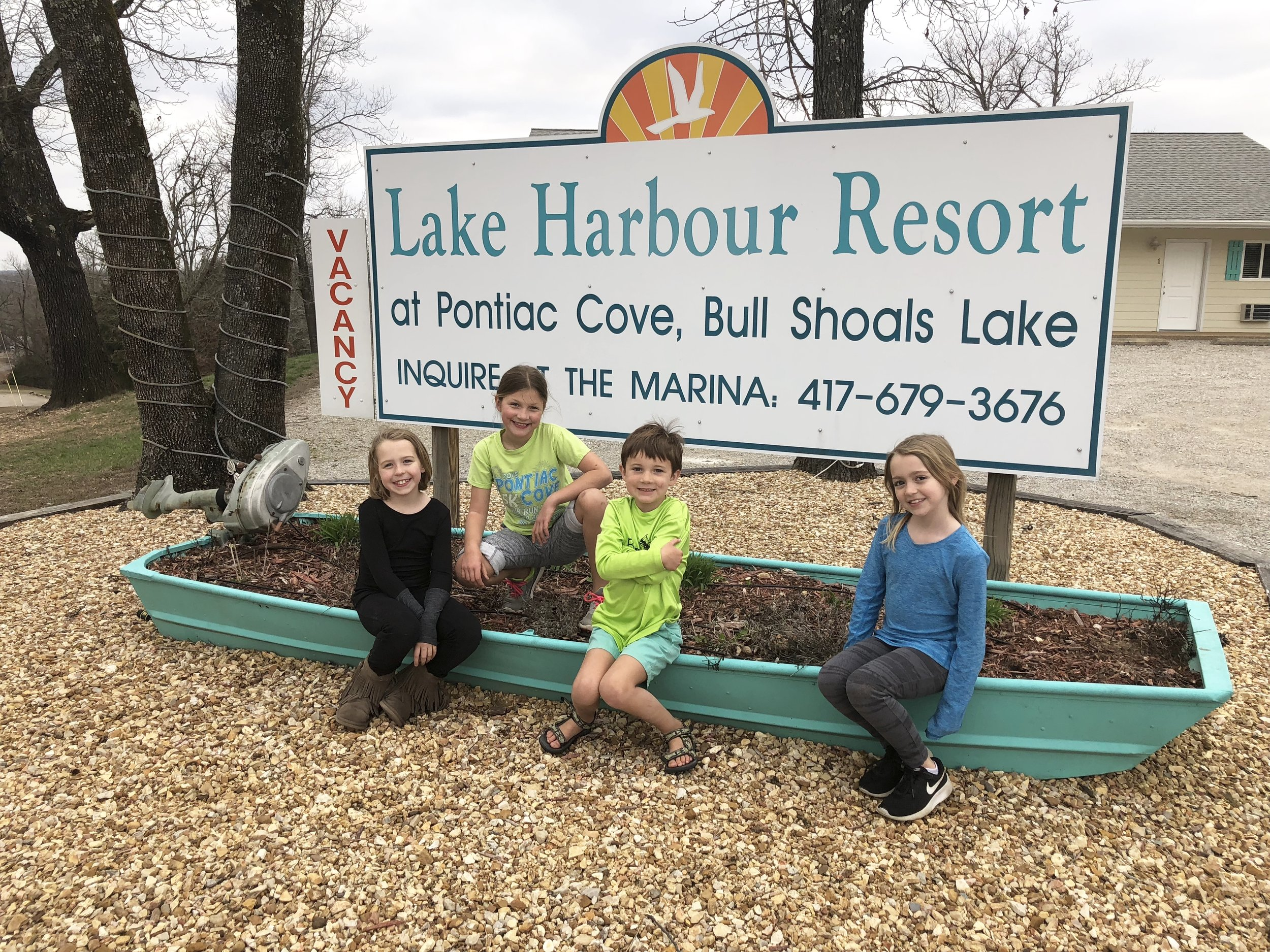 Lake Harbour Resort on Bull Shoals Lake in Southern Missouri