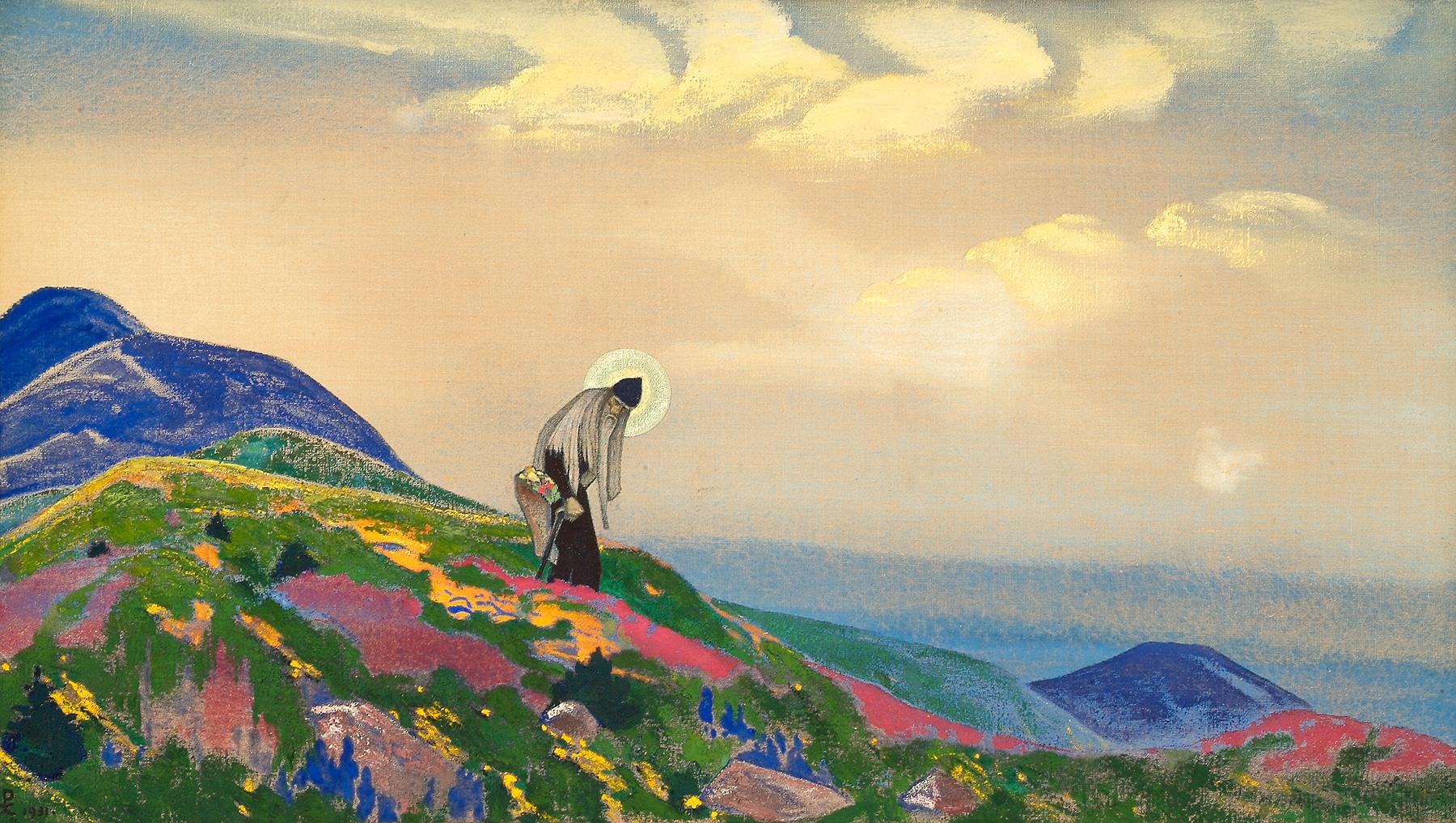 Saint Panteleimon the Healer, 1931 — Nicholas Roerich