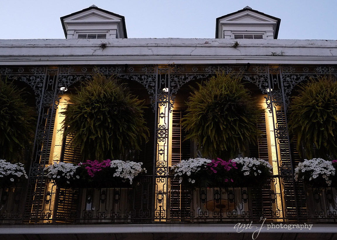 Dusk Balcony