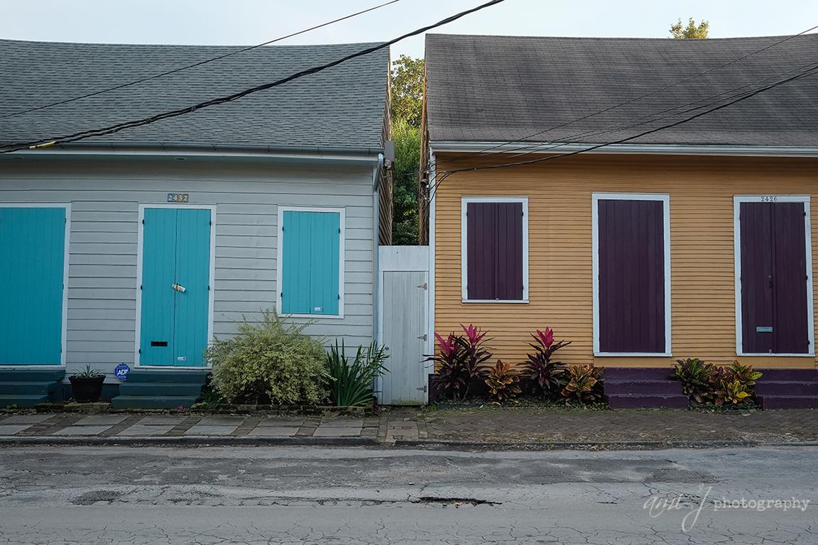 Symmetrical Cottages