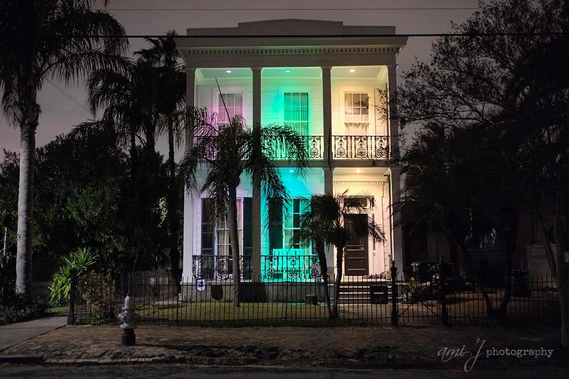 Mardi Gras Lighting