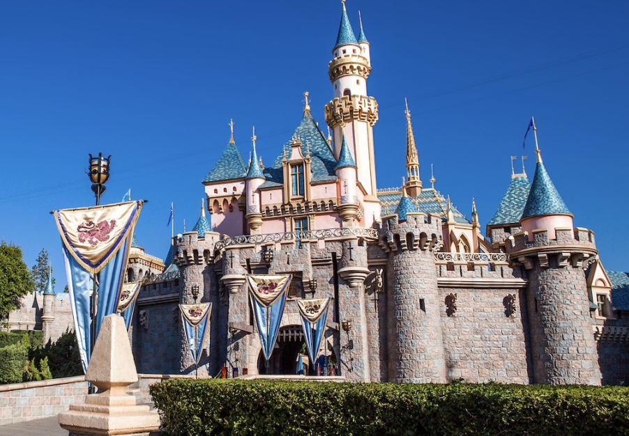 Disneyland, CA - Sleeping Beauty Castle