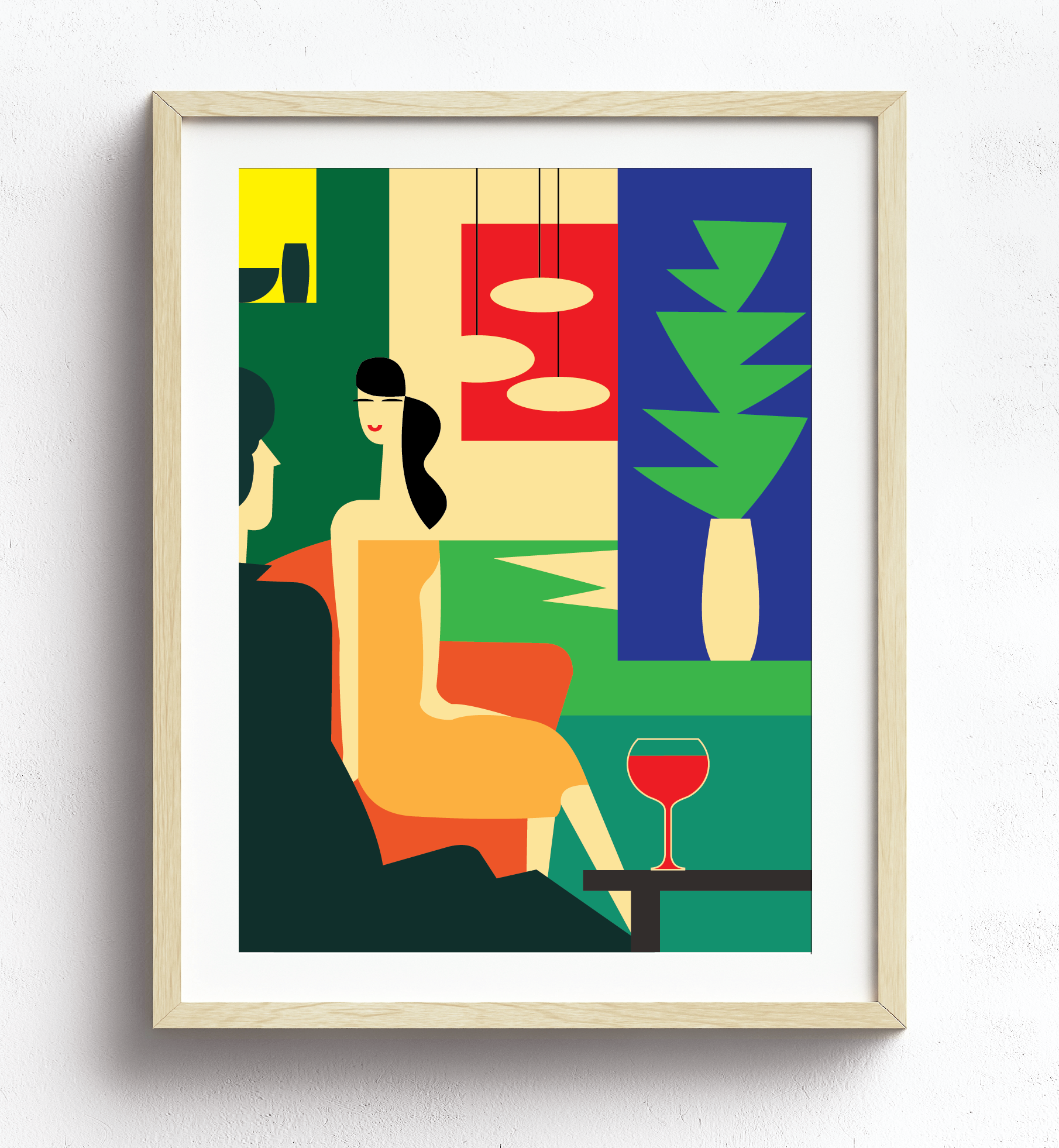 "MarioSiART ""Retro Cocktails"" Art Print"