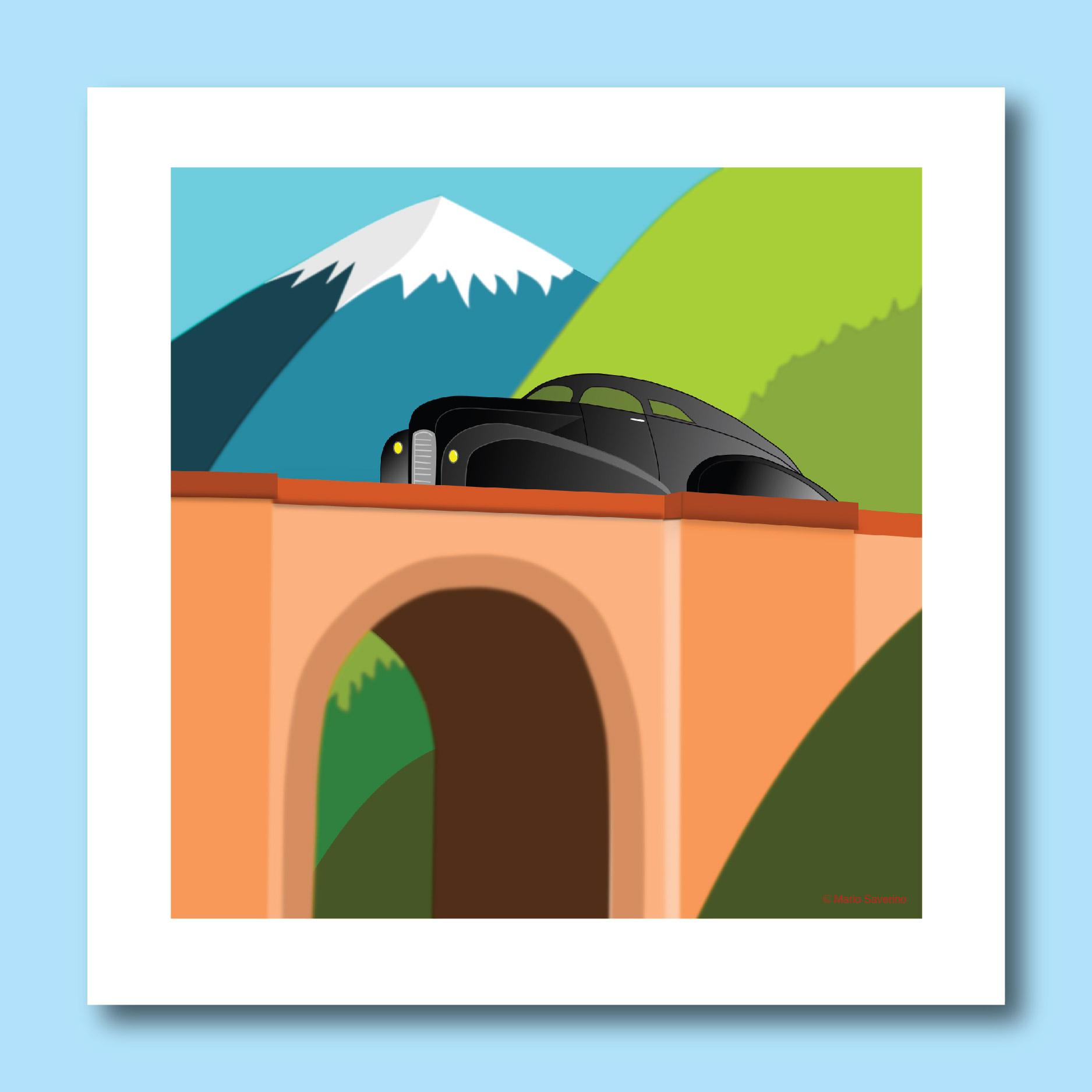 mariosiart a mountain drive