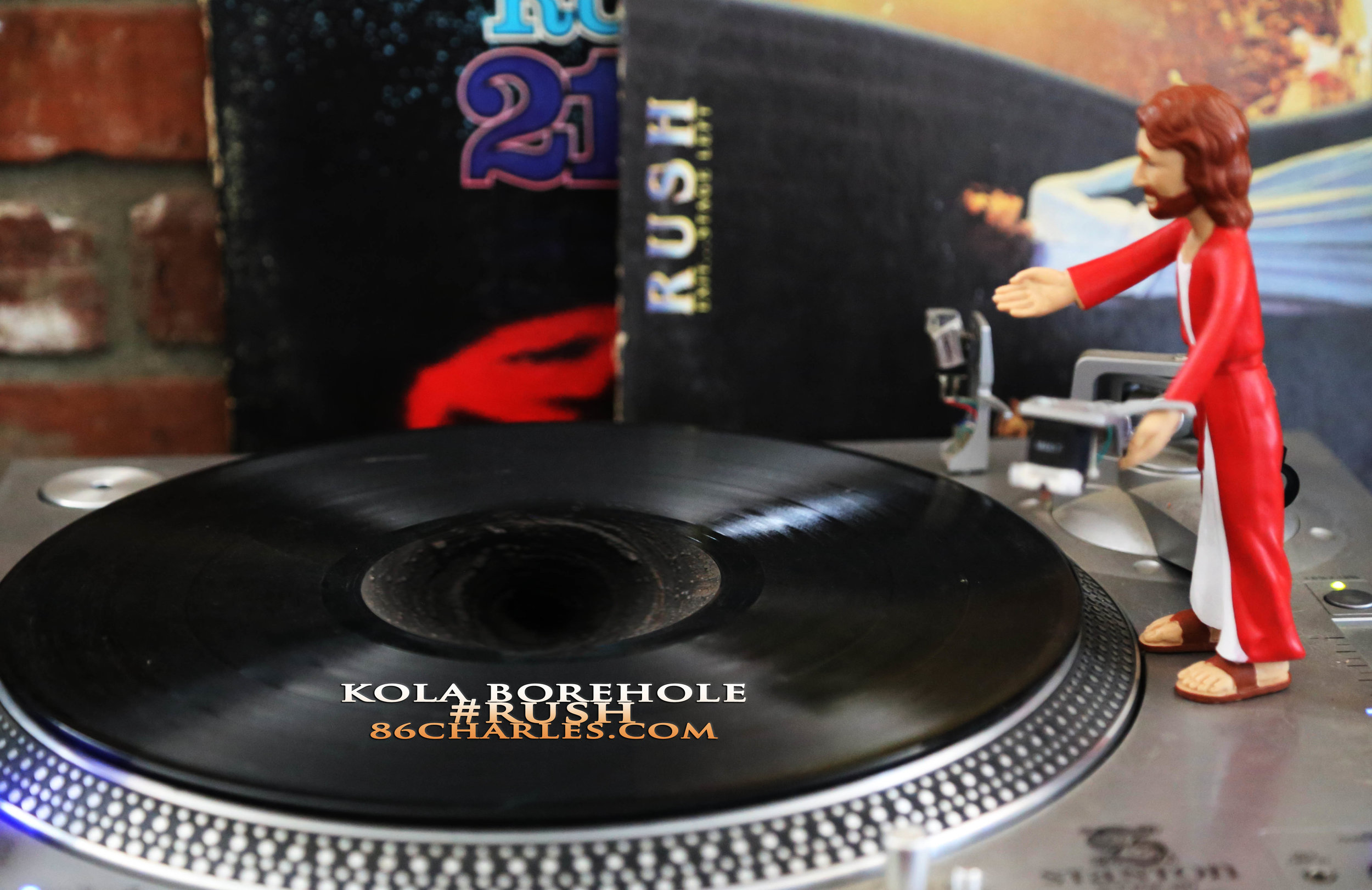 Kola Borehole #Rush