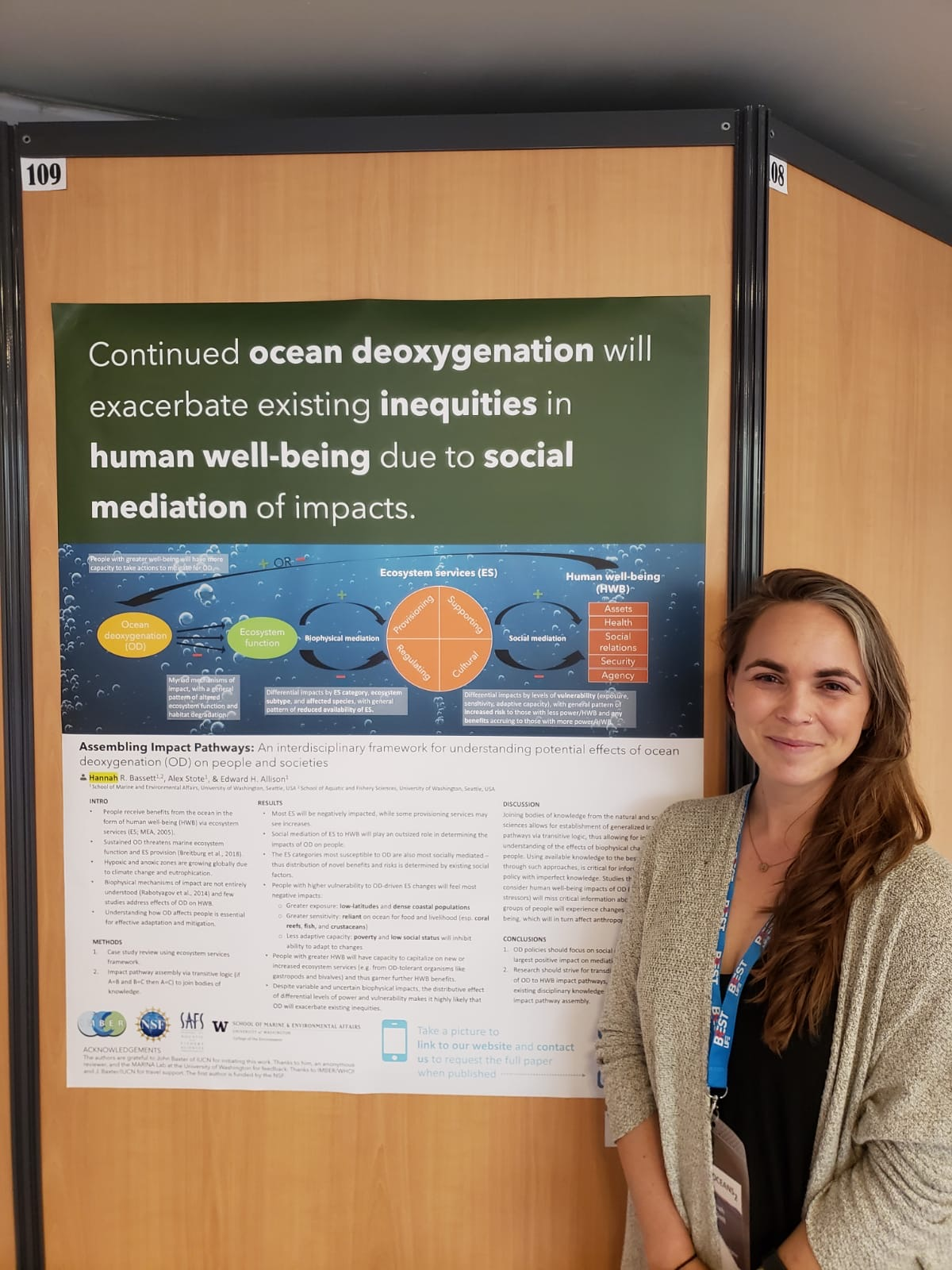 Hannah's Poster Session
