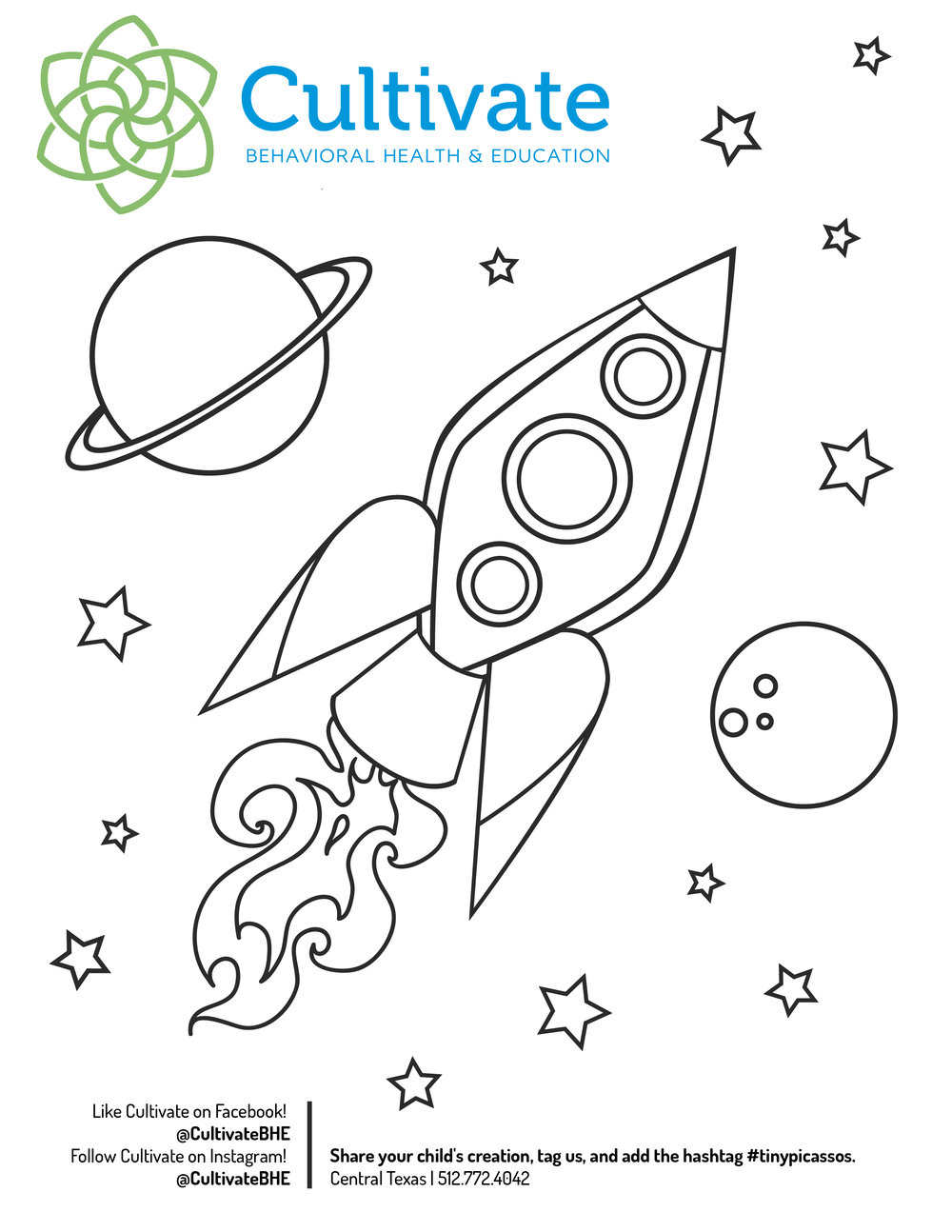 Coloring Pages for Children - Summer 2017