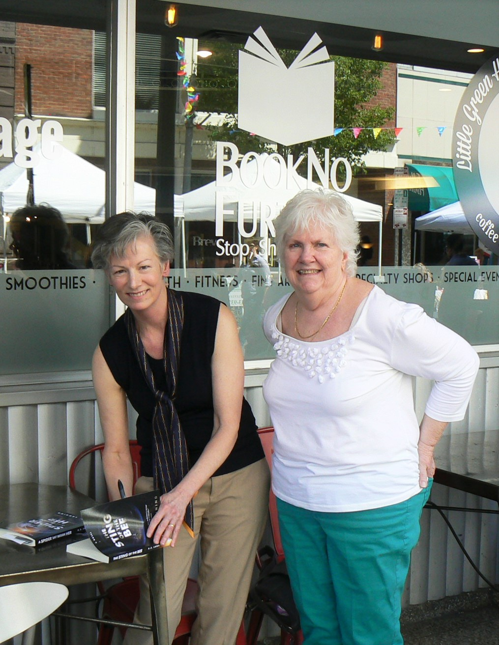 Launch of The Sting of the Bee at Book No Further, Roanoke, VA