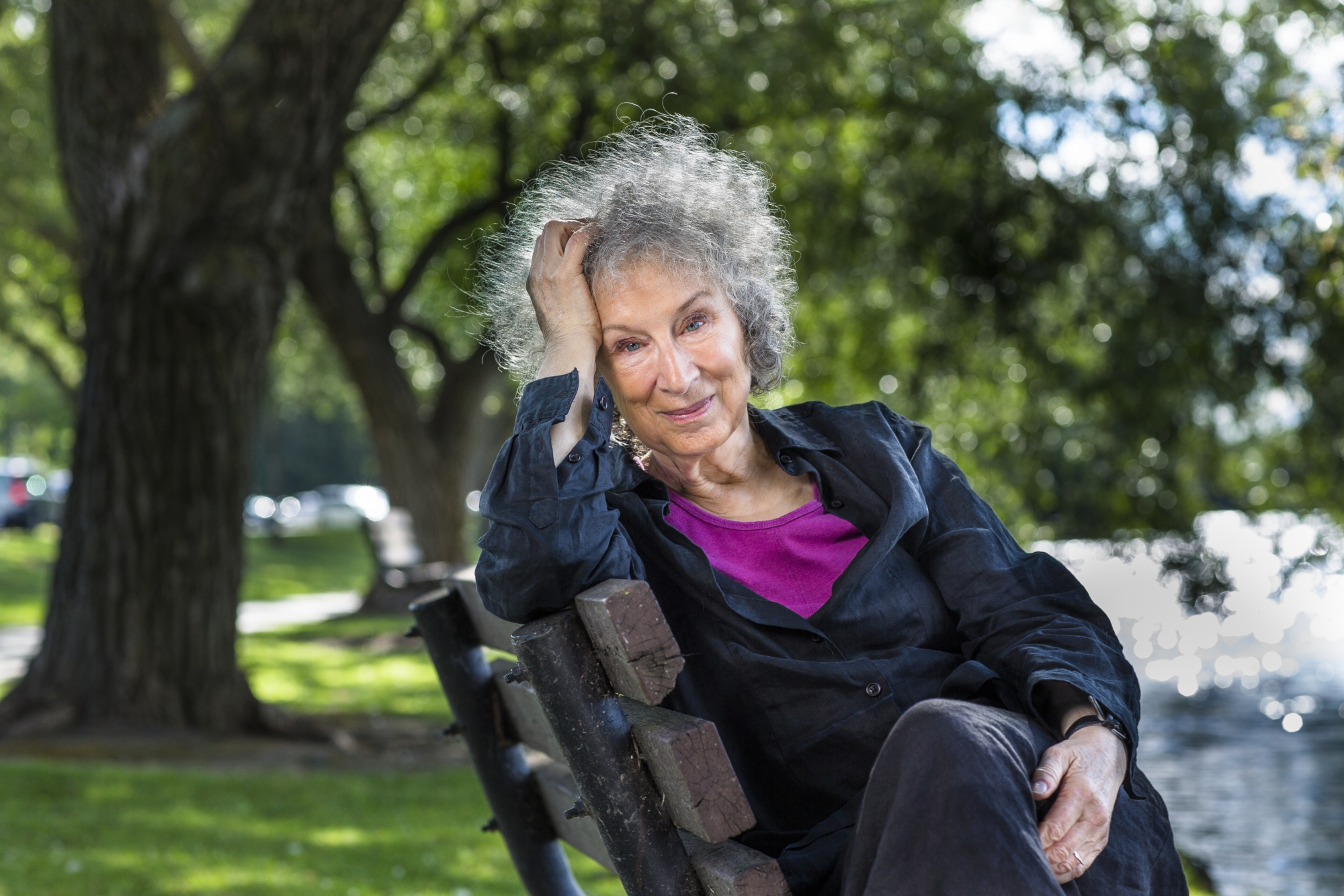 Margaret Atwood (Photo by Liam Sharp)