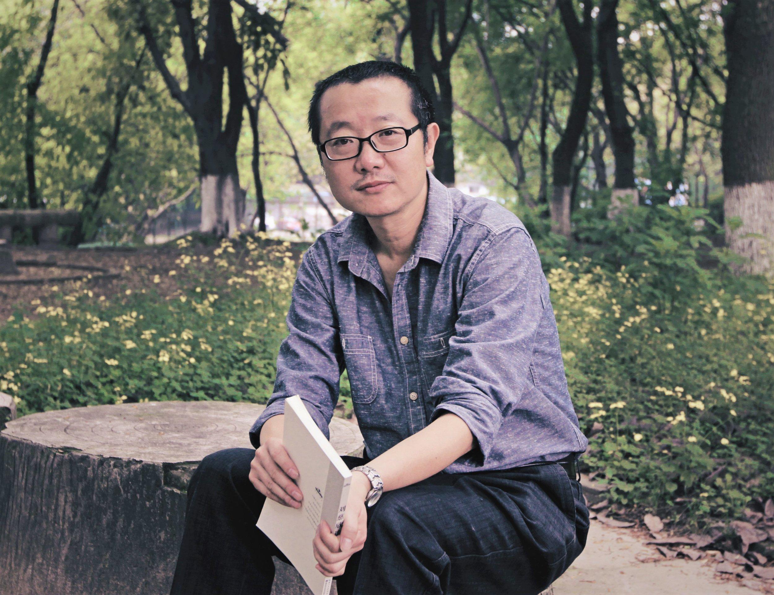 Author Cixin Liu