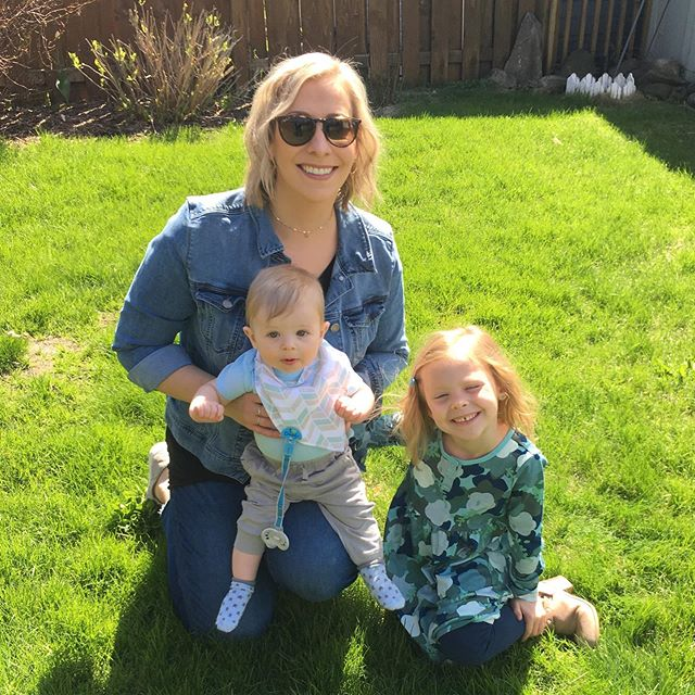 Happy Mothers Day! I'm so happy to be a Mommy to these two little people! 🥰