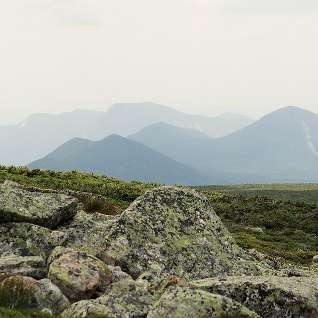 Last snap from @baxterstatepark, this one from the start of our descent. Until next year, Katahdin...