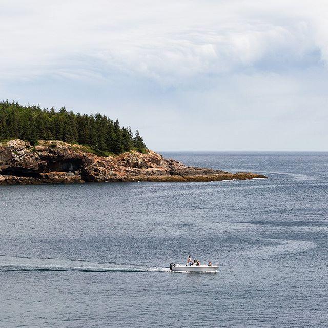 A sliver of Maine's 3,748 miles of coastline.