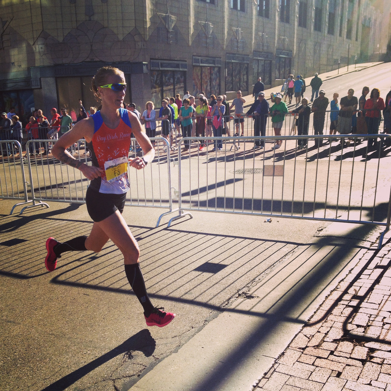 Akron Marathon. September 2014
