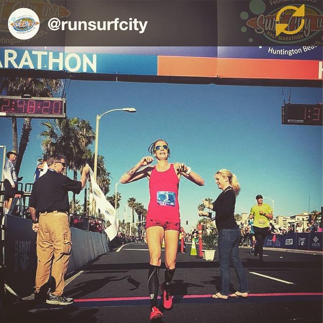 Surf City Marathon 2015. Victory!!!!