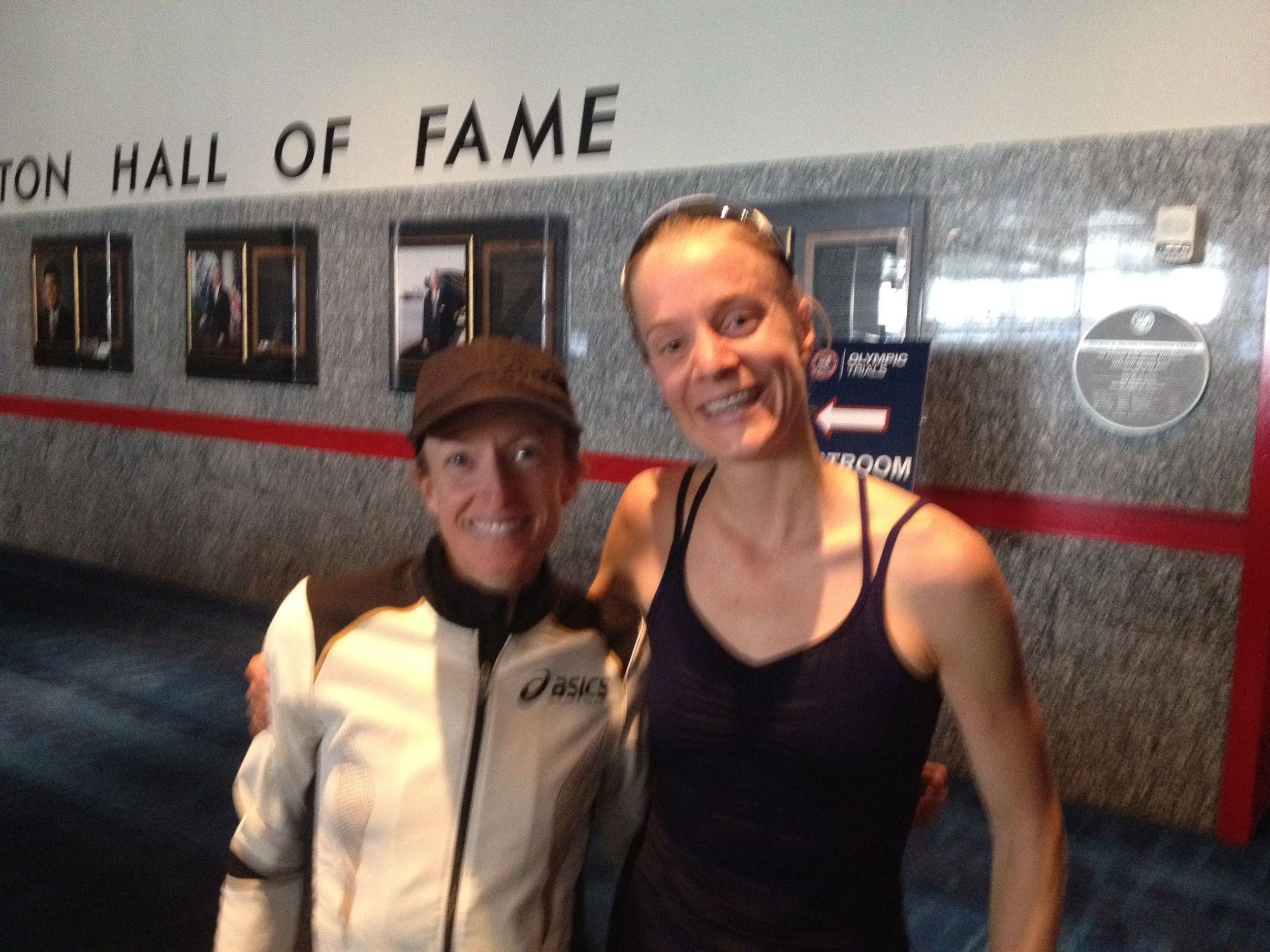 Once upon a time in 2012, I ran a PR of 2:38 at the Olympic Trials, was the fastest MUT runner in the field and then got a hug from Deena Kastor.