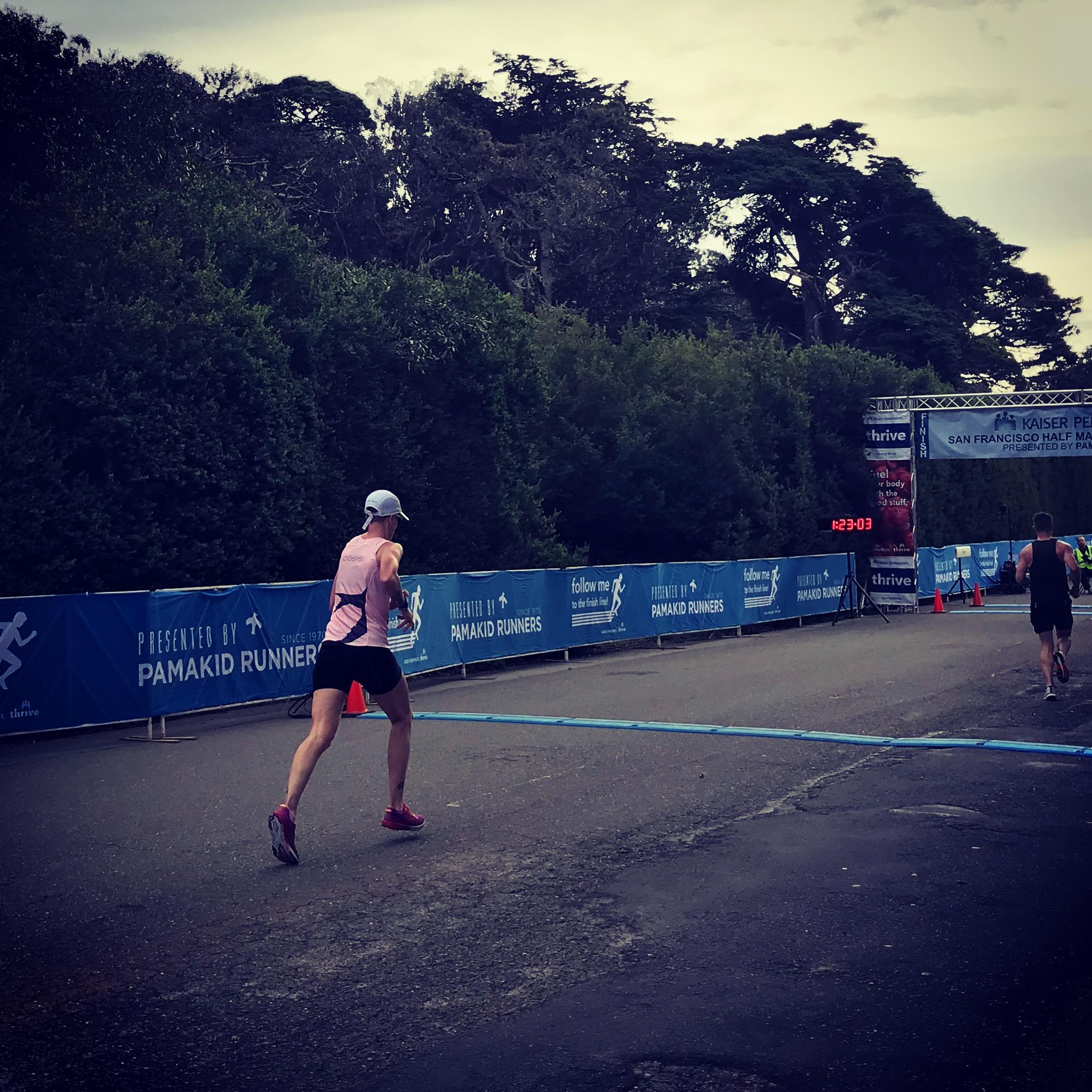 KP Half marathon. Photo by Maddy K